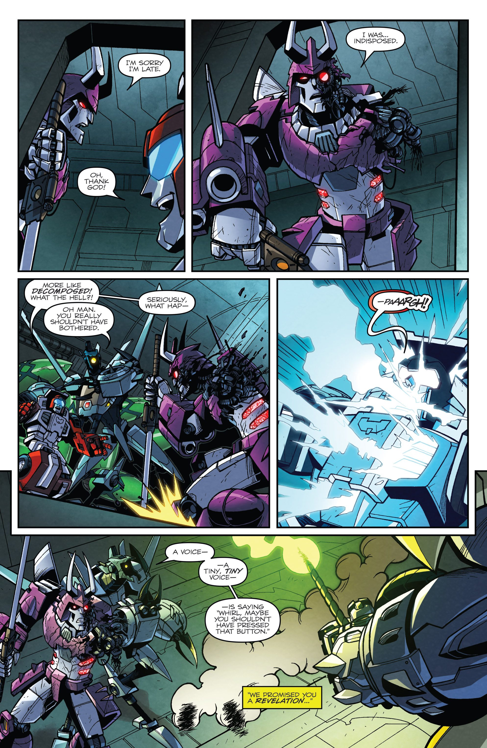 Read online Transformers: Lost Light comic -  Issue #3 - 18