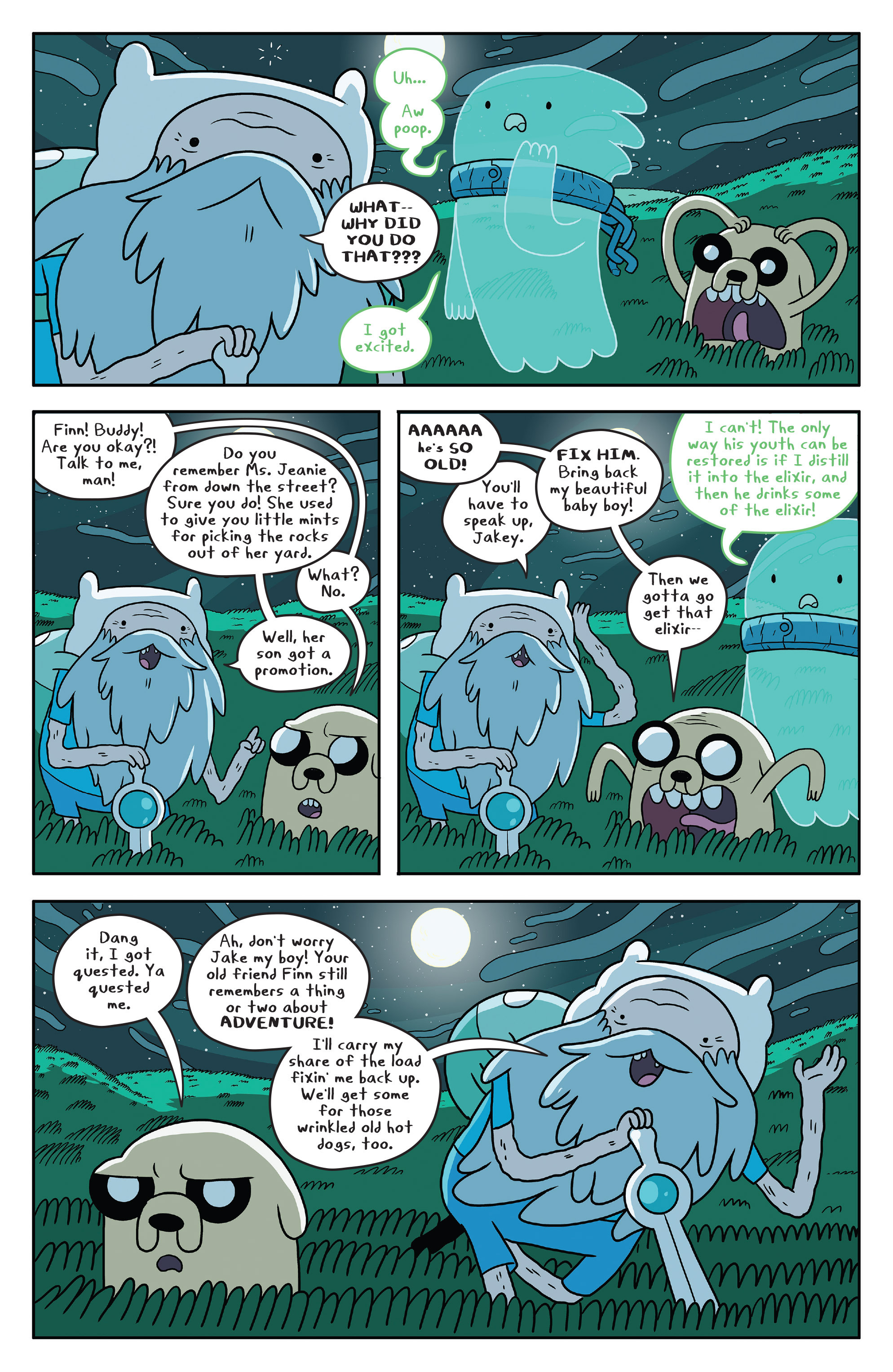 Read online Adventure Time comic -  Issue #51 - 15