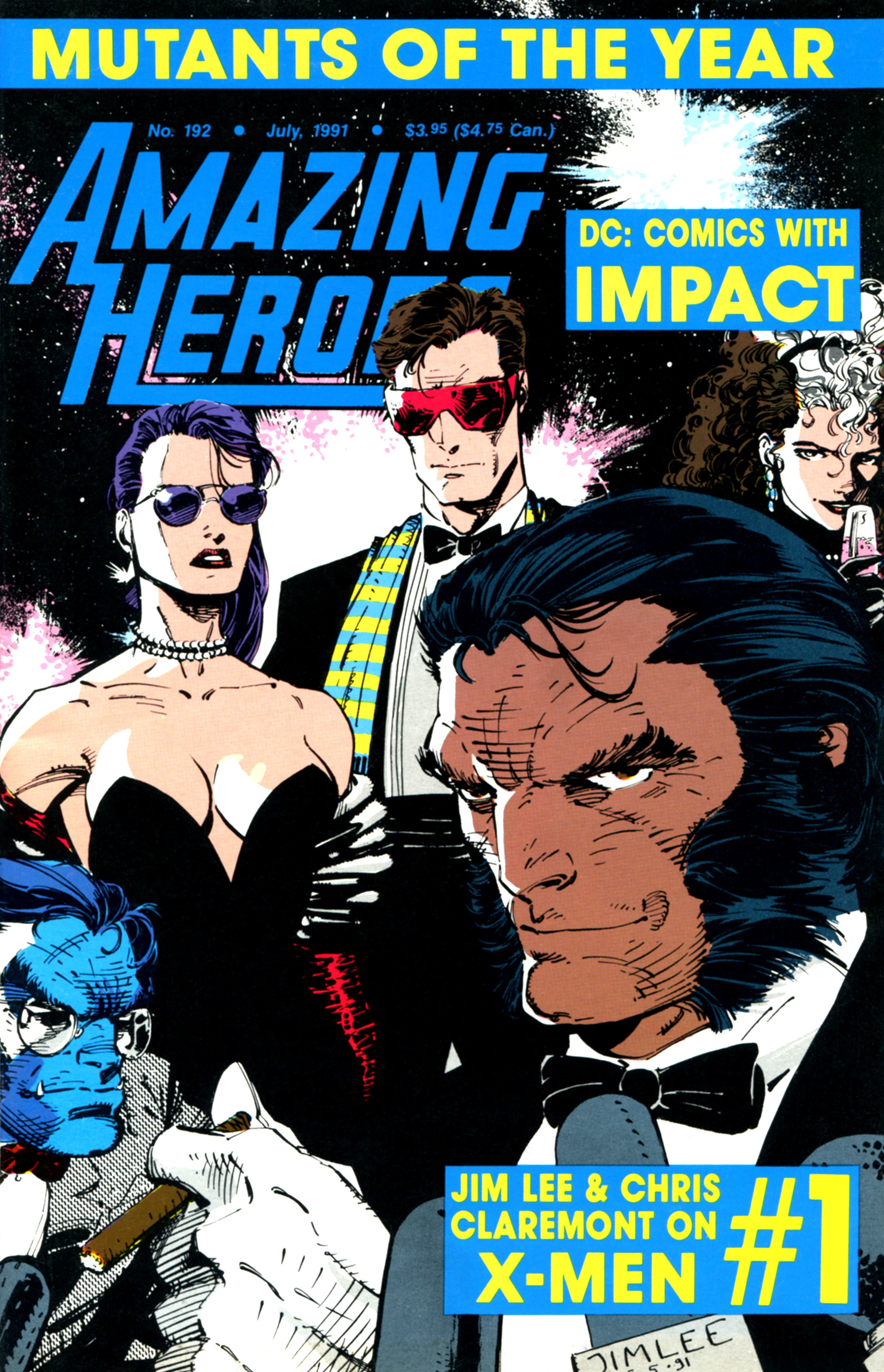 Read online Amazing Heroes comic -  Issue #192 - 1