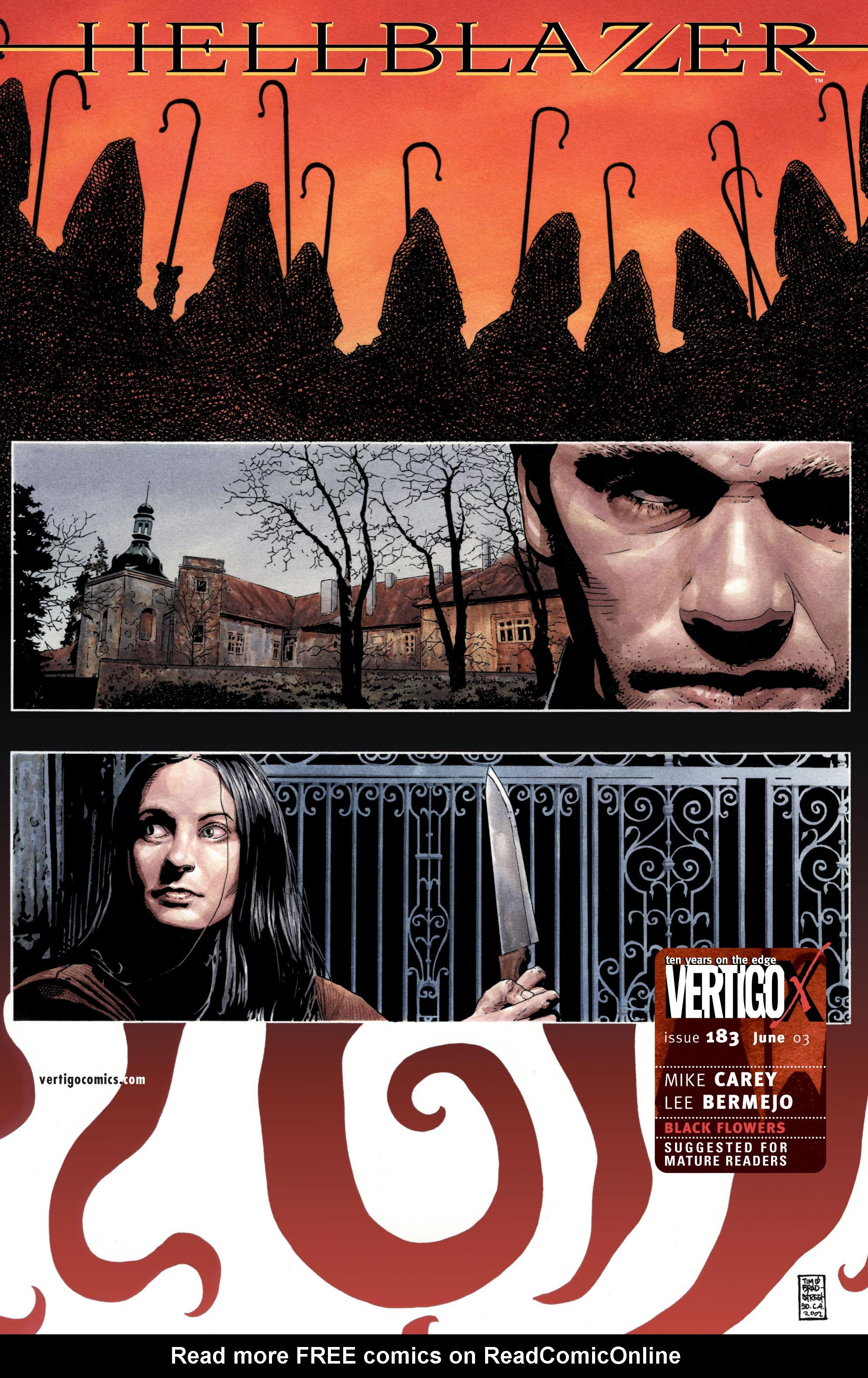 Hellblazer issue 183 - Page 1