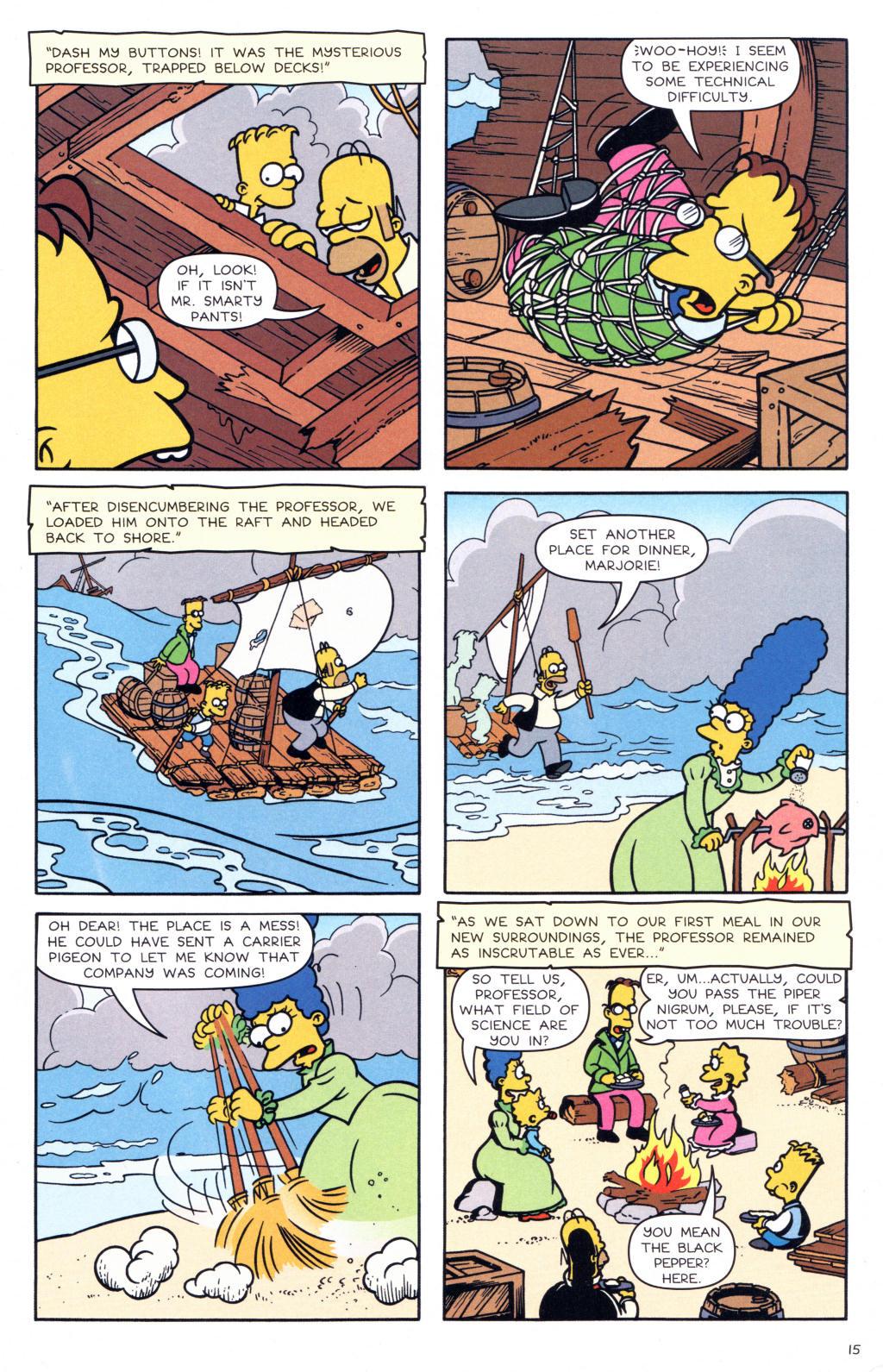 Read online Simpsons Comics comic -  Issue #127 - 12