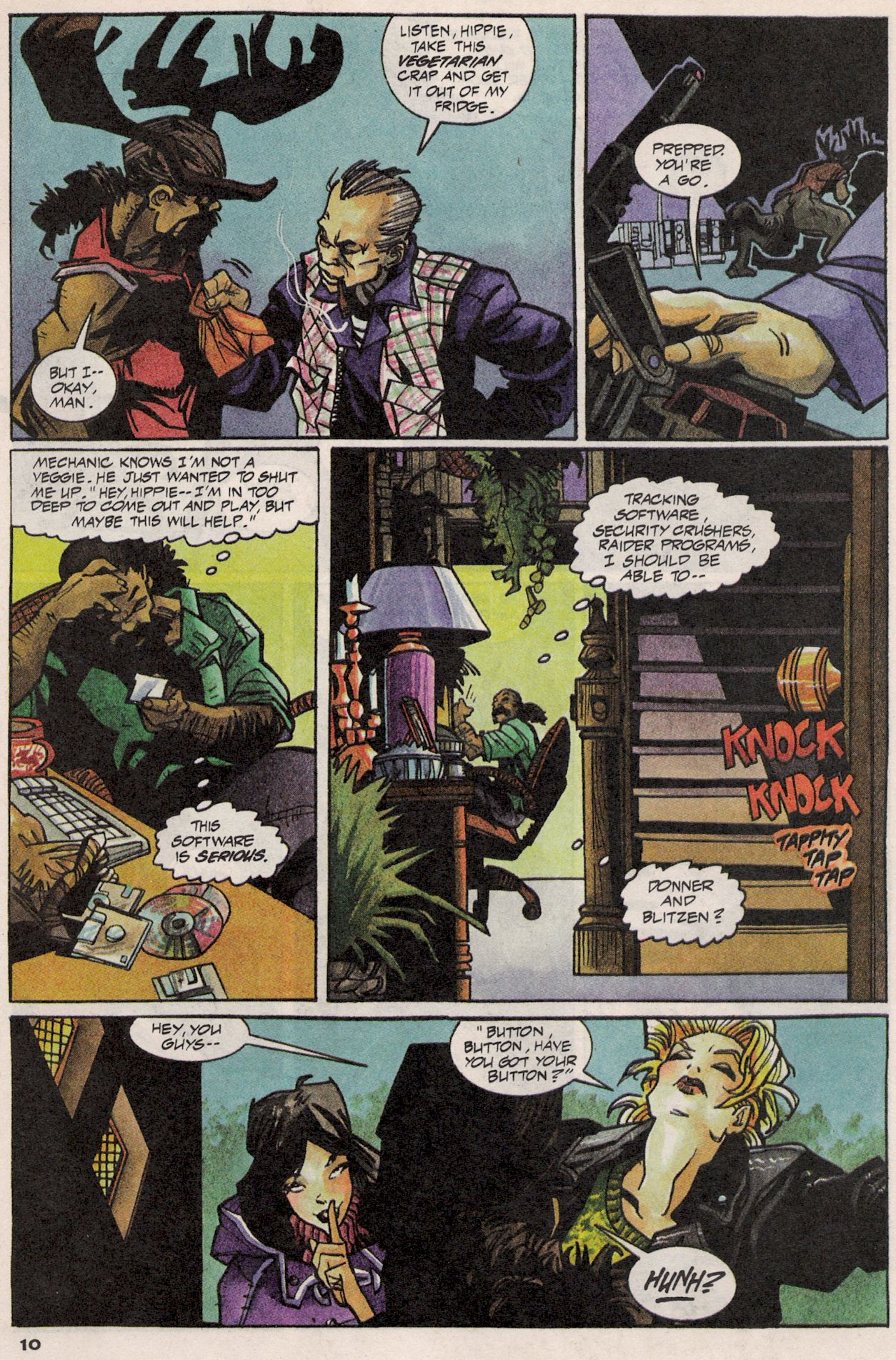 Read online Shadow Cabinet comic -  Issue #3 - 9