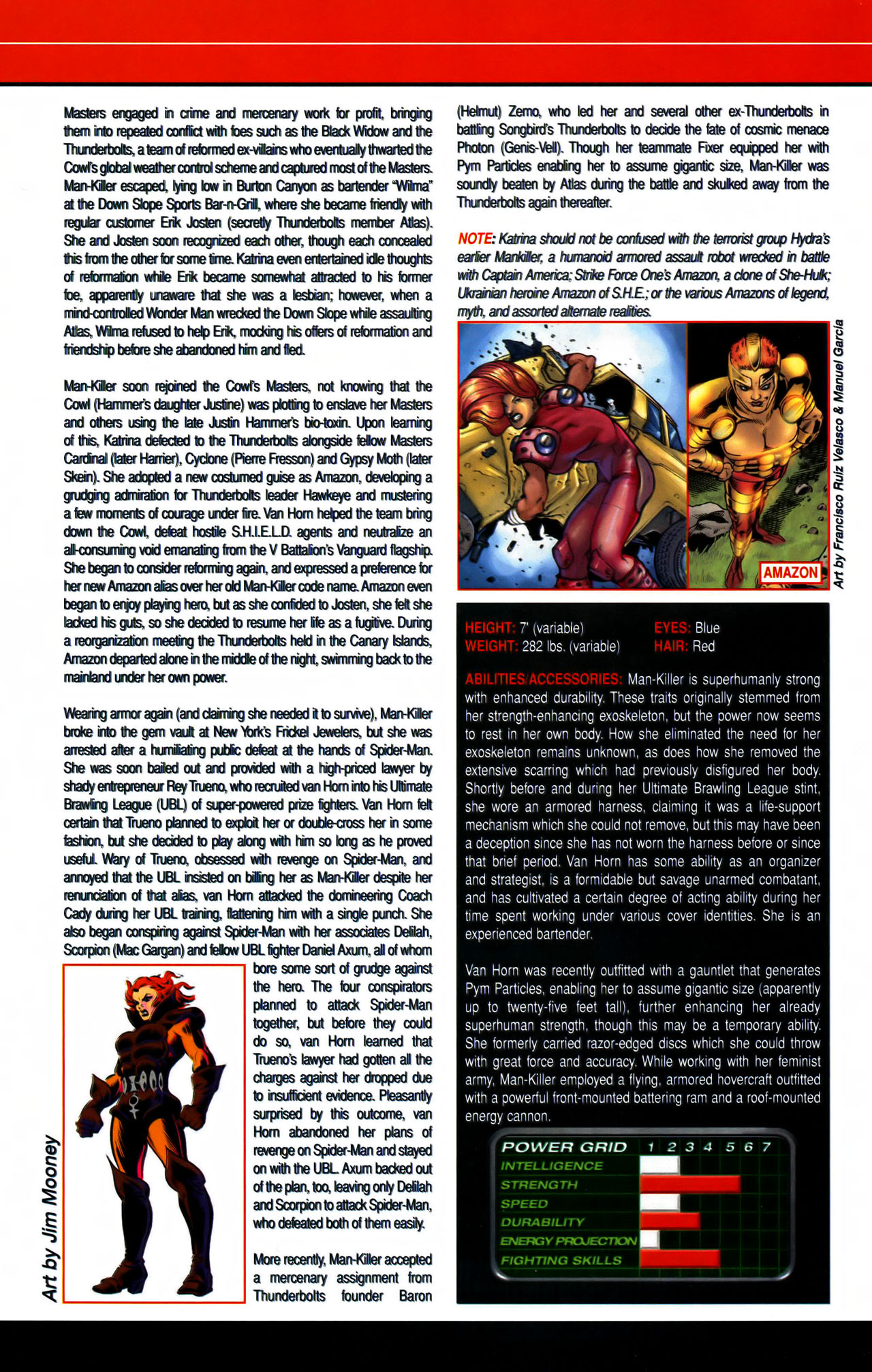 Read online All-New Official Handbook of the Marvel Universe A to Z comic -  Issue #7 - 8
