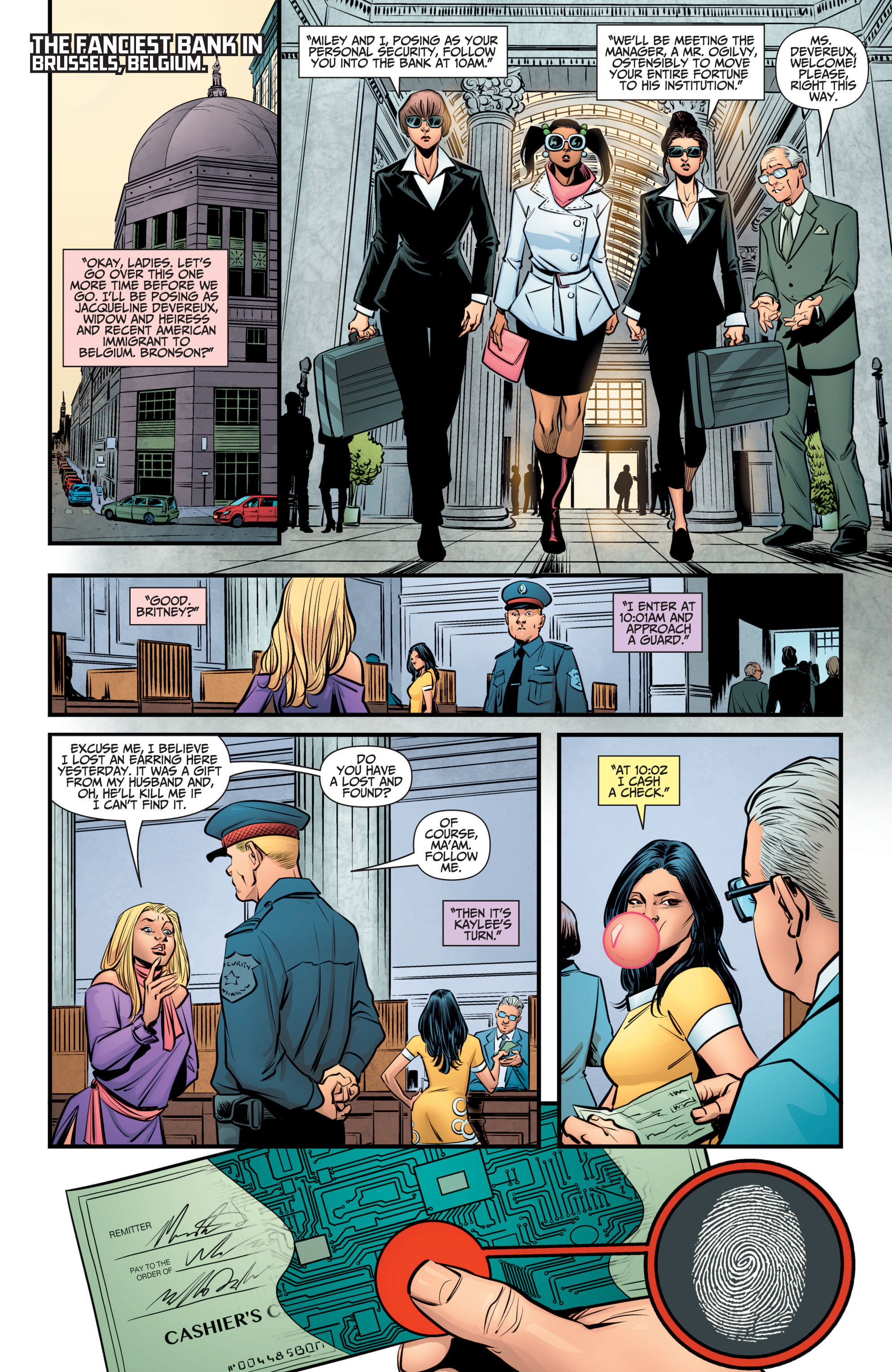 Read online A&A: The Adventures of Archer & Armstrong comic -  Issue #9 - 15