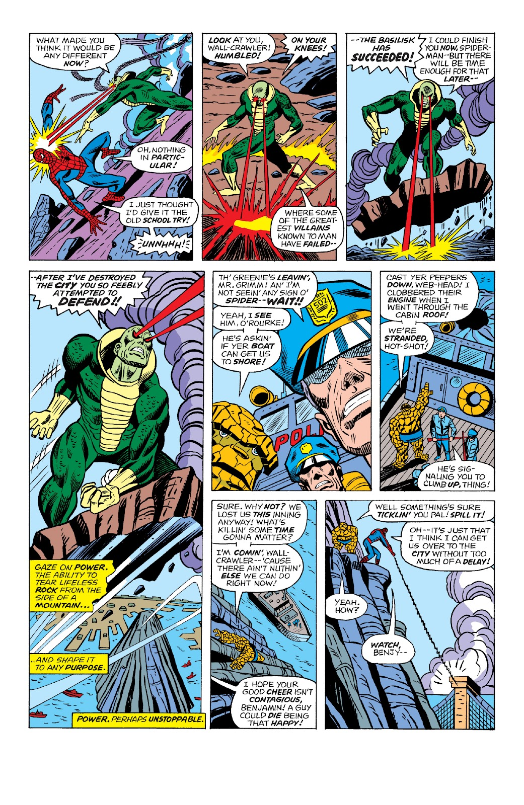 Read online Marvel Two-In-One Epic Collection: Cry Monster comic -  Issue # TPB (Part 4) - 79