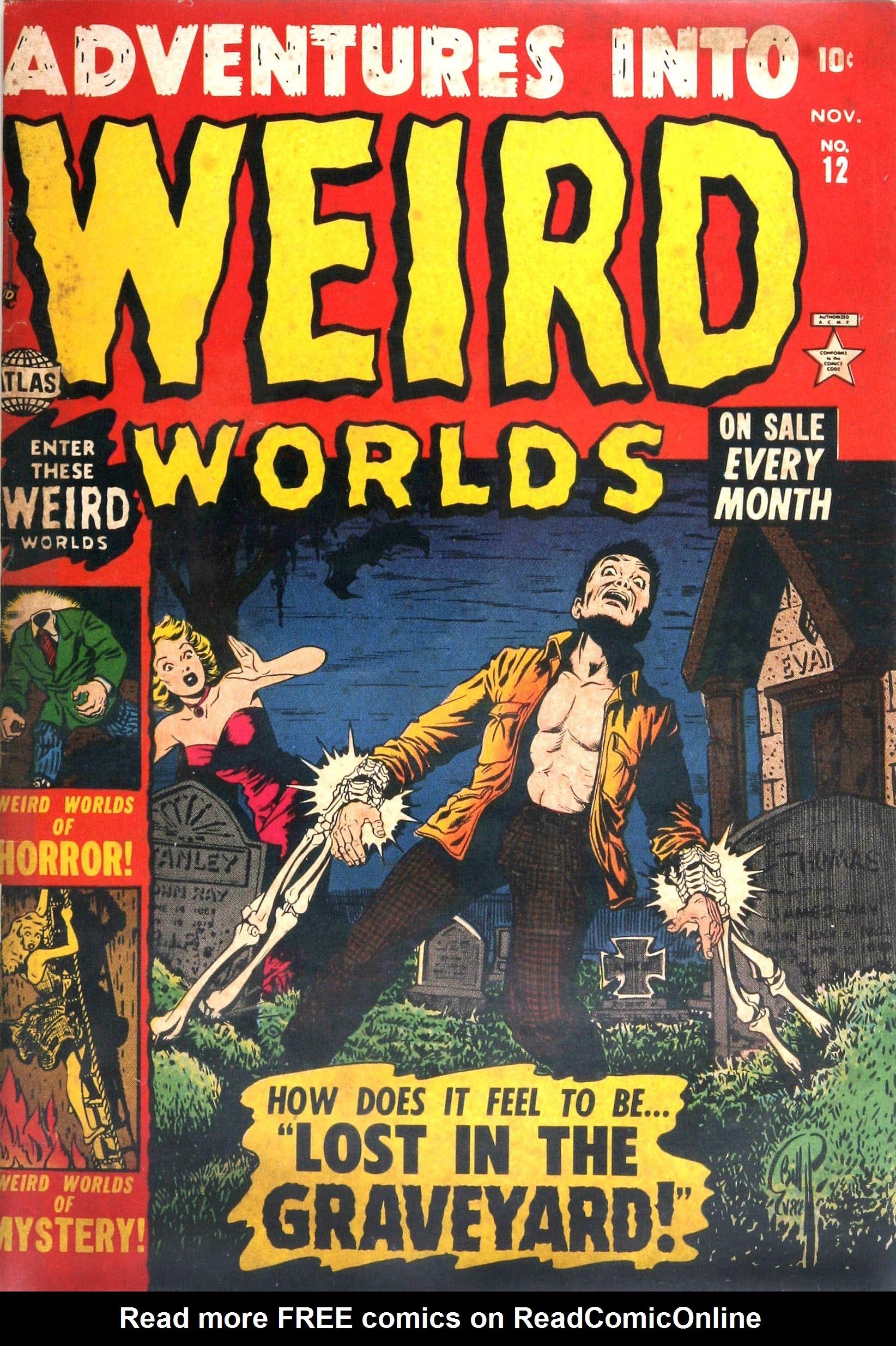 Adventures into Weird Worlds 12 Page 1
