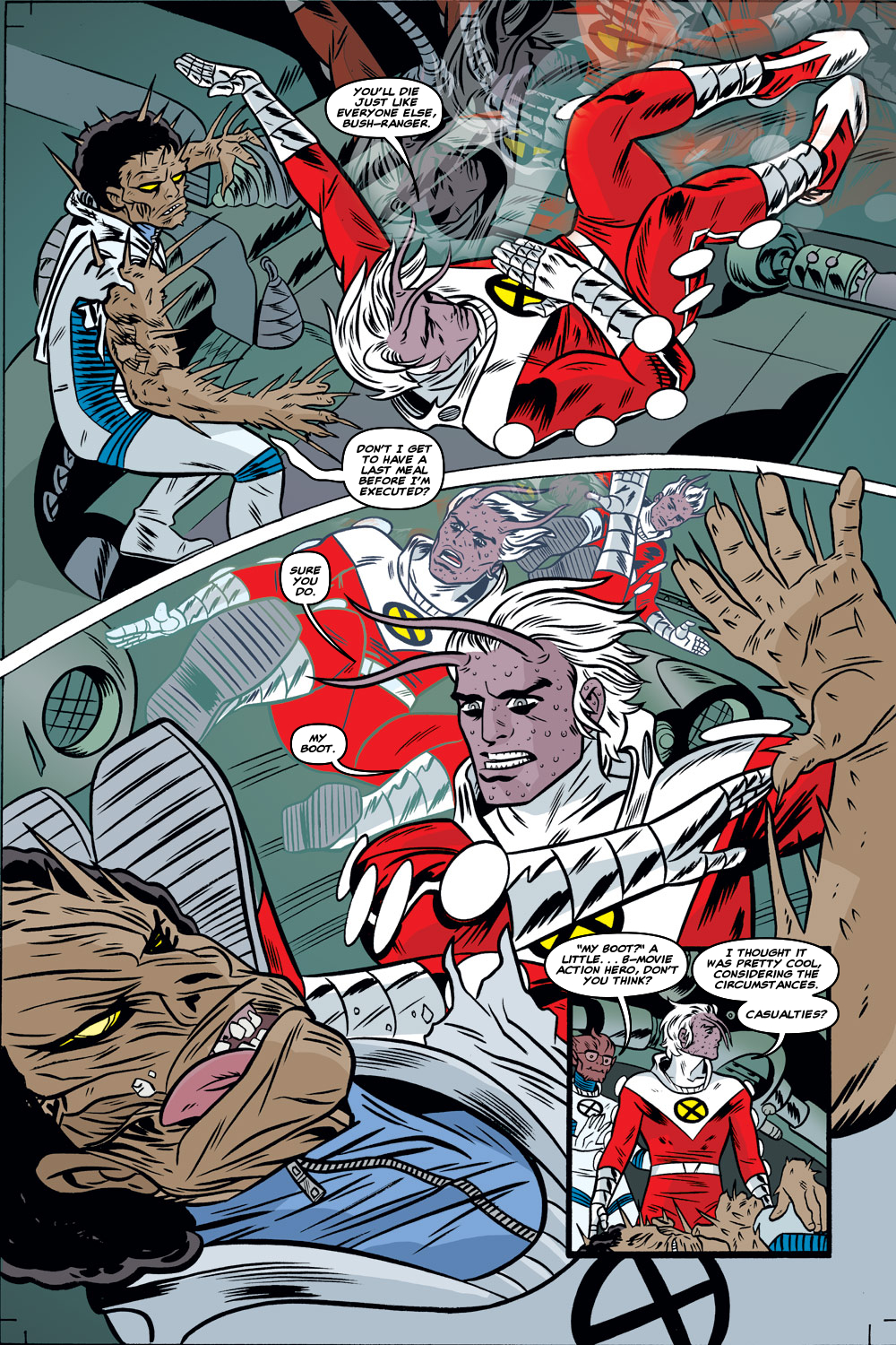 Read online X-Force (1991) comic -  Issue #128 - 19
