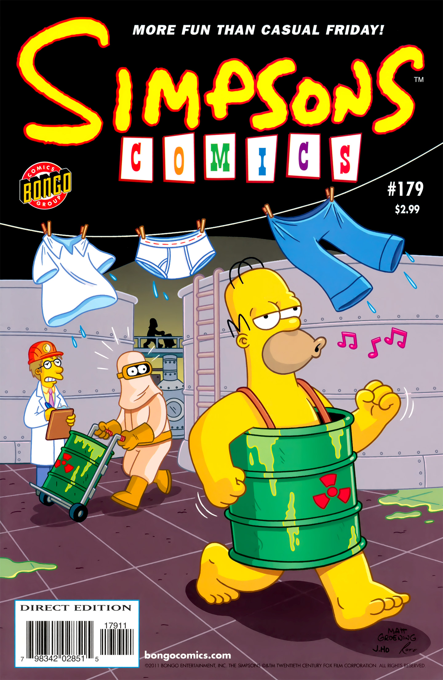 Read online Simpsons Comics comic -  Issue #179 - 1