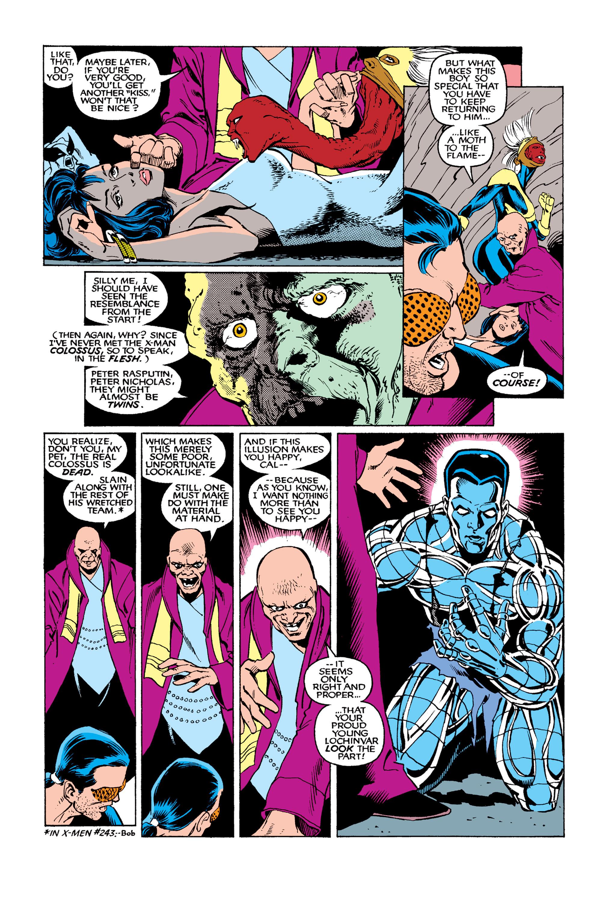 Read online Uncanny X-Men (1963) comic -  Issue #263 - 9