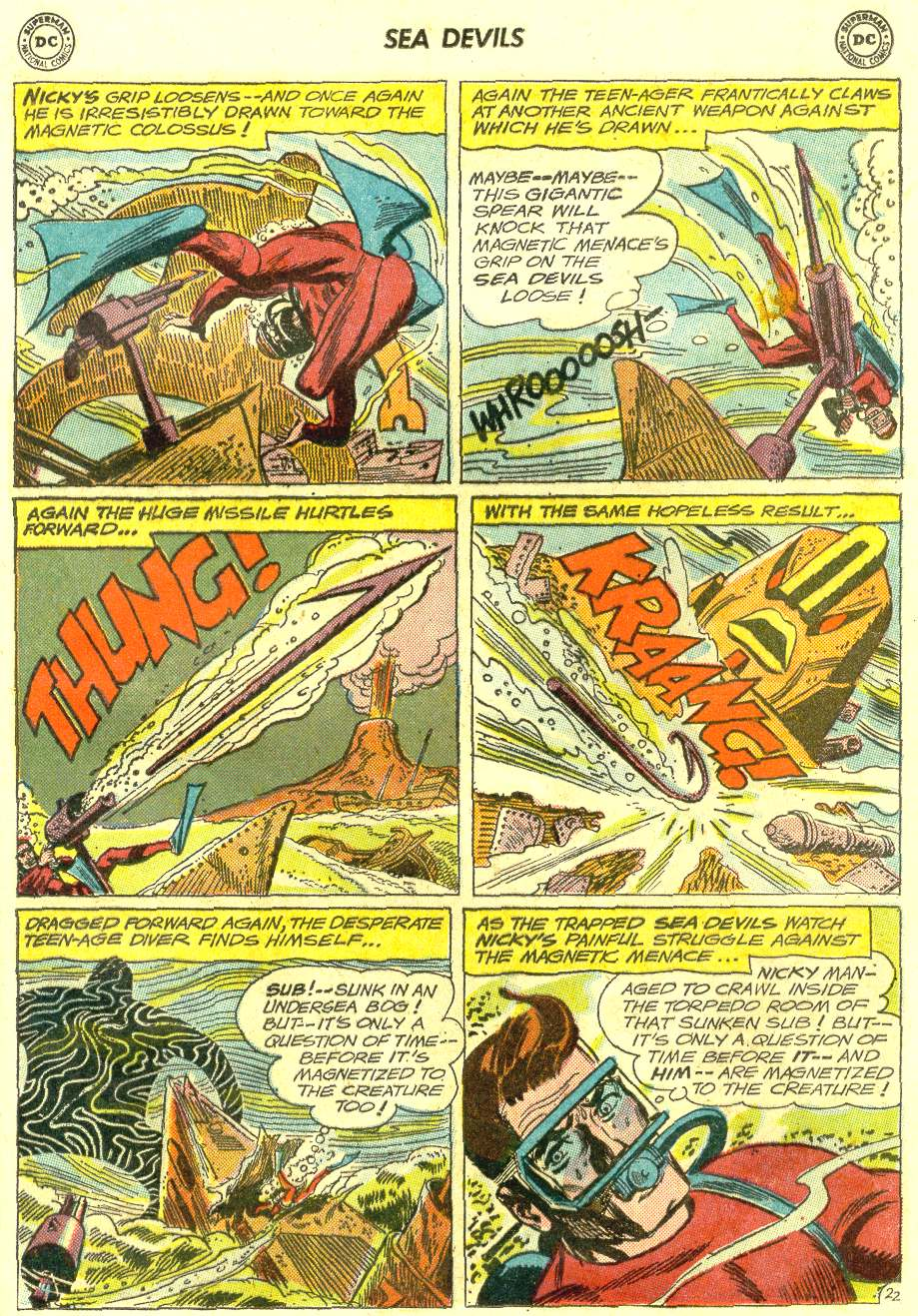 Read online Sea Devils comic -  Issue #12 - 29
