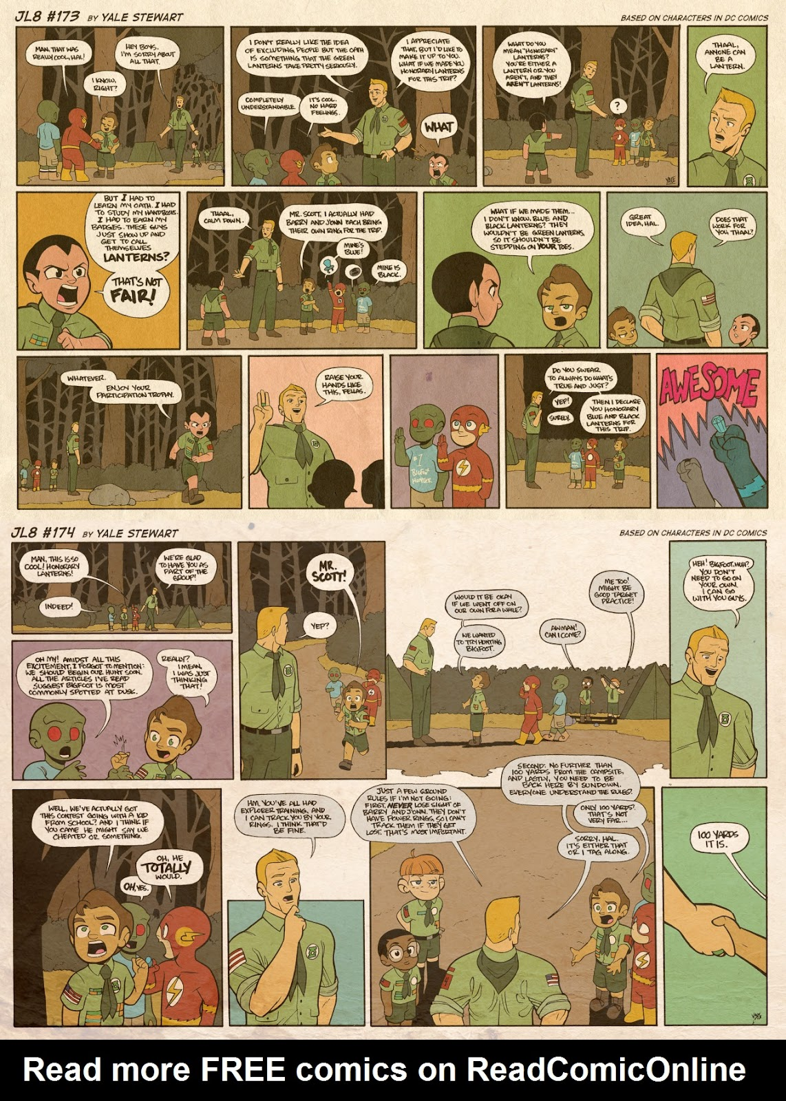 Read online JL8 – The Complete Collection comic -  Issue # TPB (Part 1) - 91