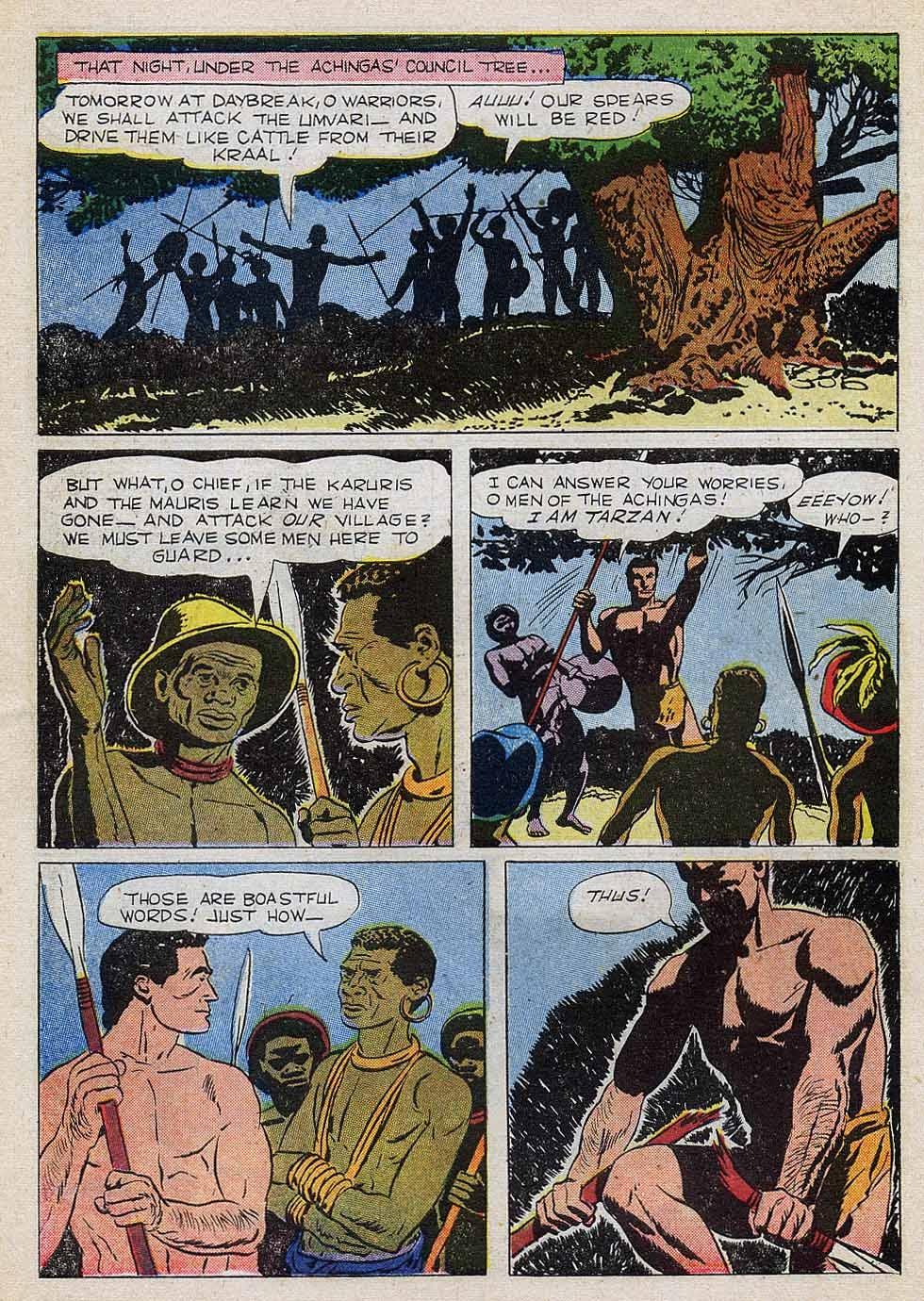 Tarzan (1948) issue 101 - Page 6