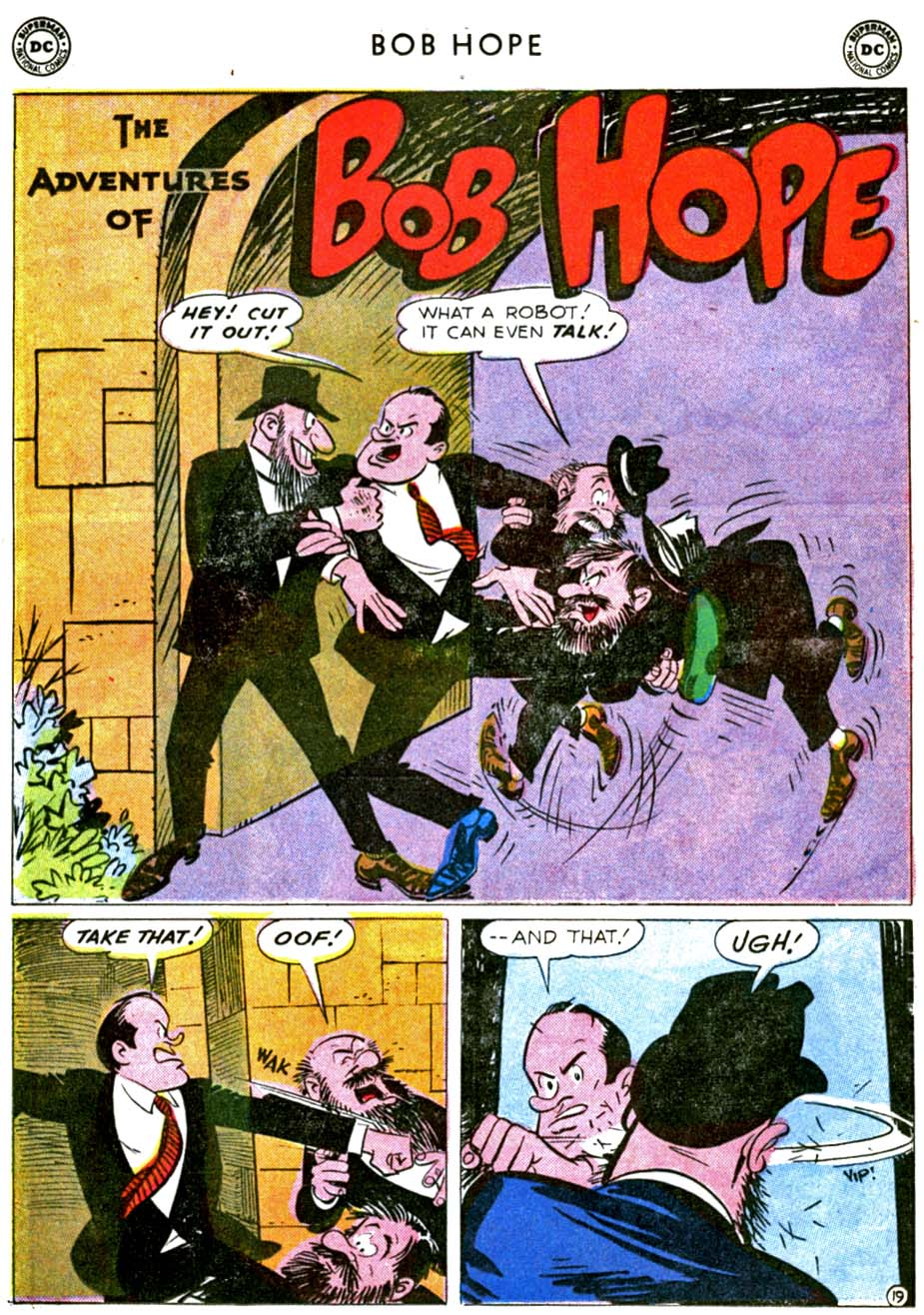 The Adventures of Bob Hope issue 68 - Page 25