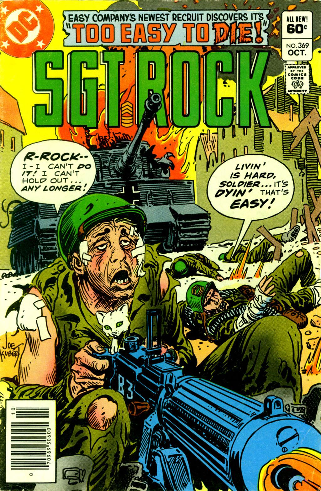 Read online Sgt. Rock comic -  Issue #369 - 1