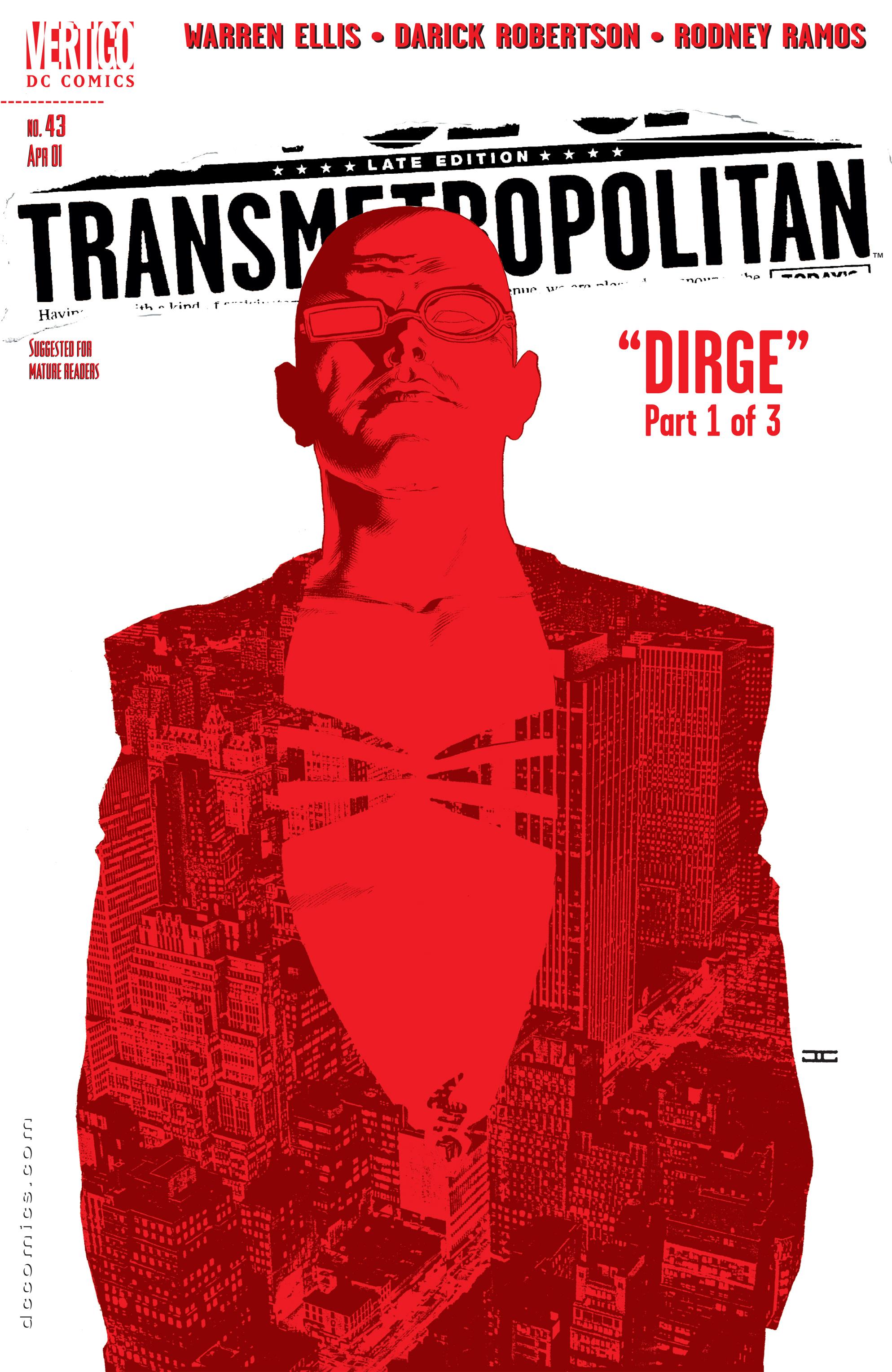 Read online Transmetropolitan comic -  Issue #43 - 1