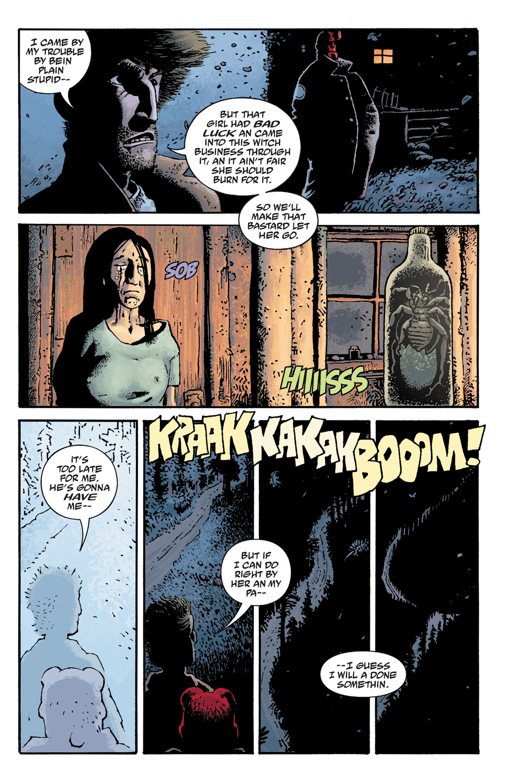 Read online Hellboy: The Crooked Man and Others comic -  Issue # TPB - 33