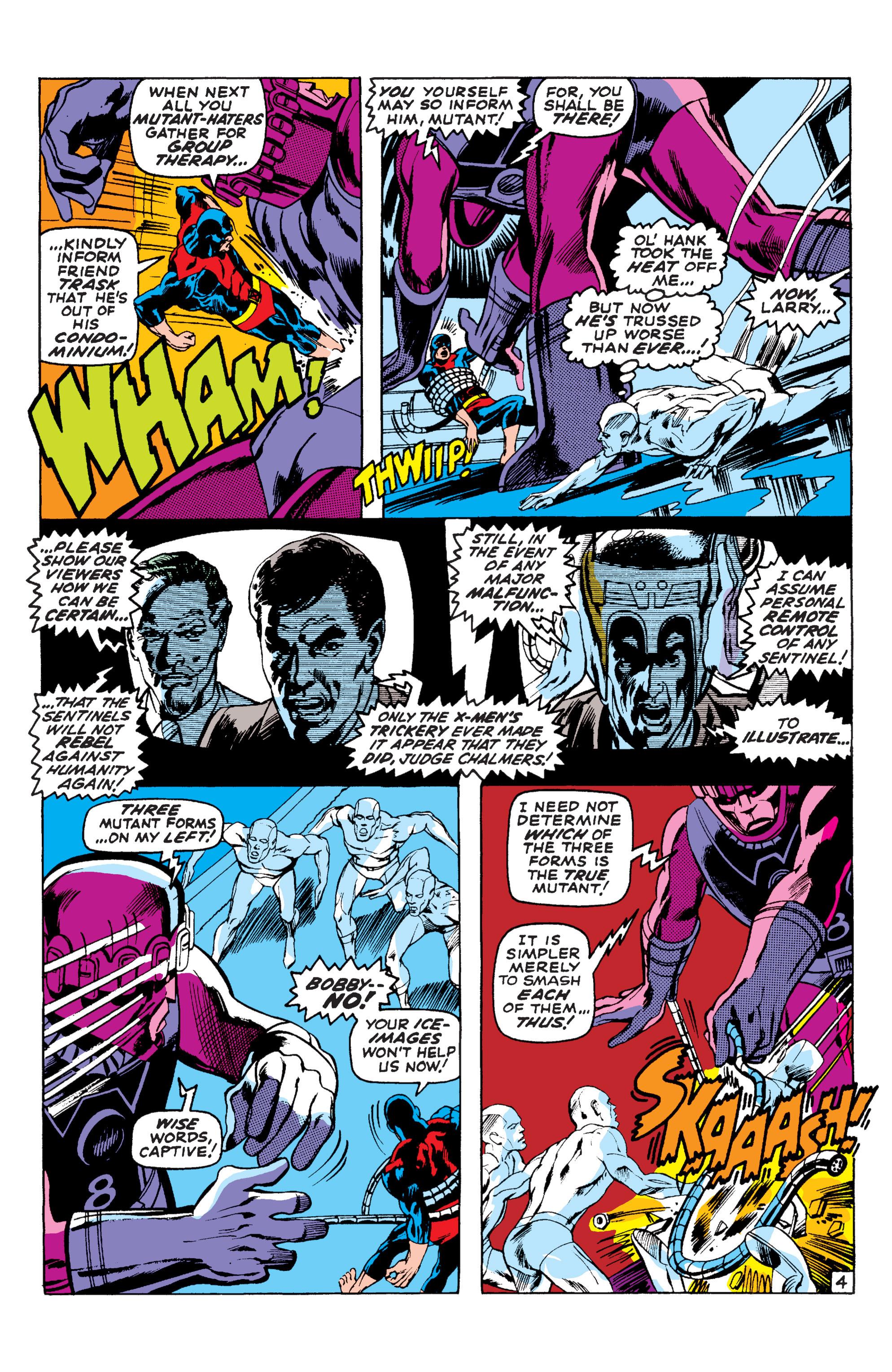 Read online Uncanny X-Men (1963) comic -  Issue #58 - 4