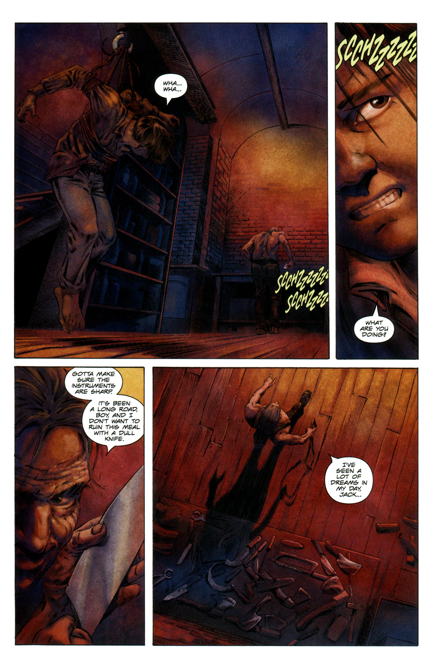 Read online Severed comic -  Issue #7 - 4