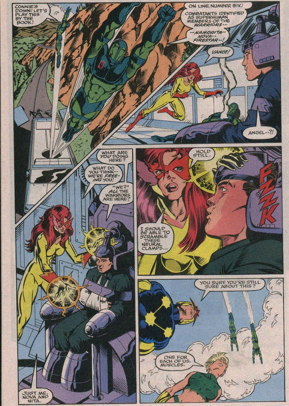 The New Warriors Issue #26 #30 - English 15