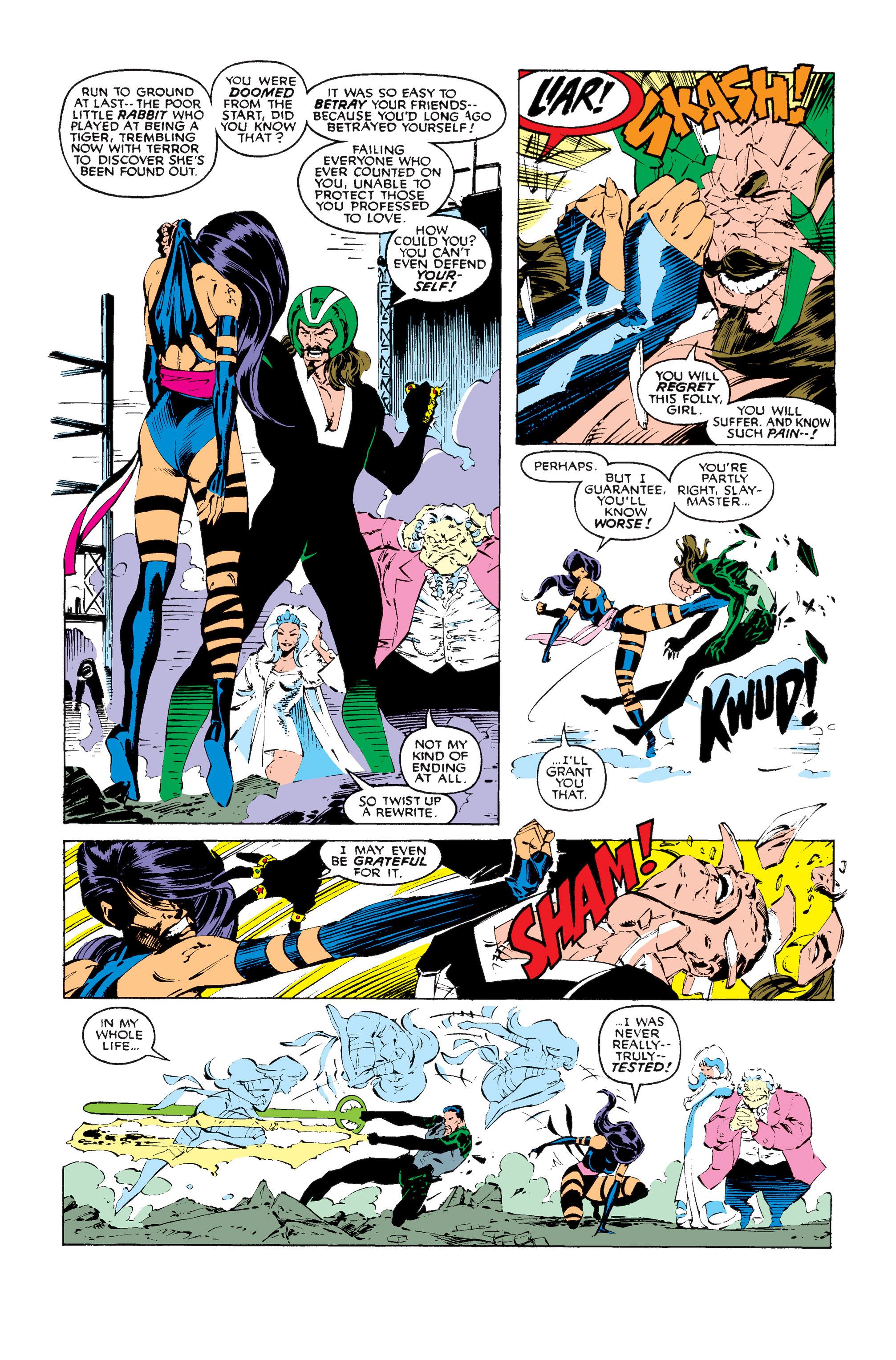 Read online Uncanny X-Men (1963) comic -  Issue #256 - 22