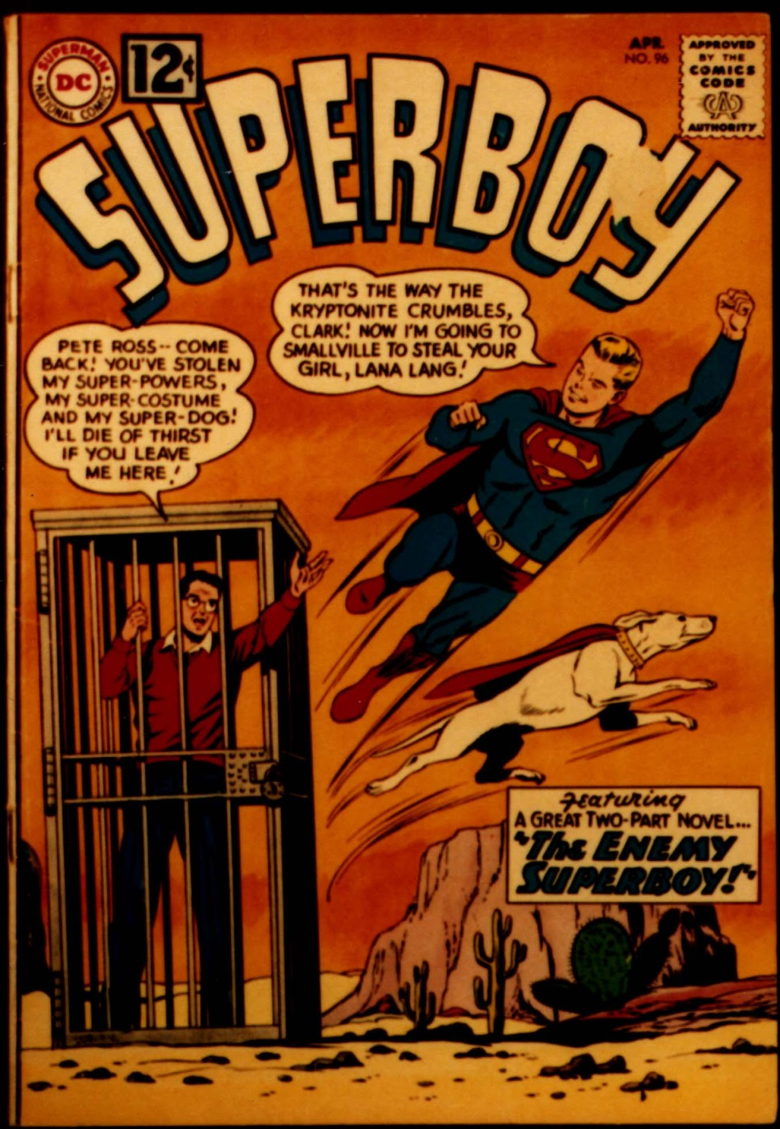 Superboy (1949) issue 96 - Page 1