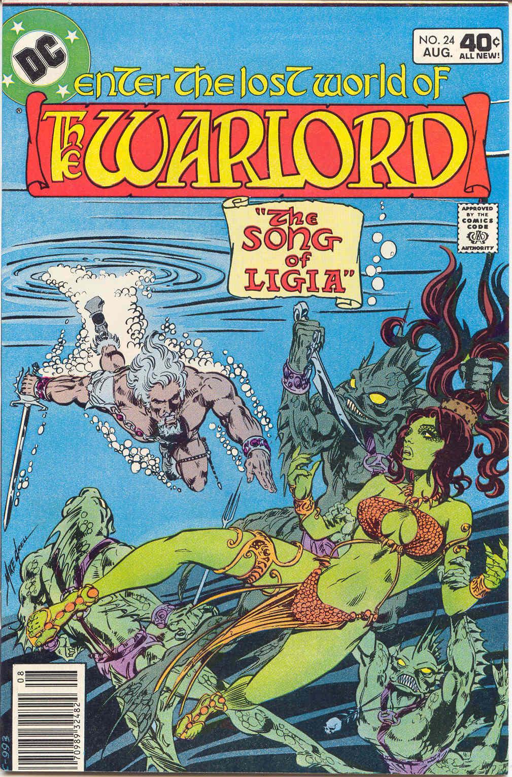 Warlord (1976) 24 Page 1