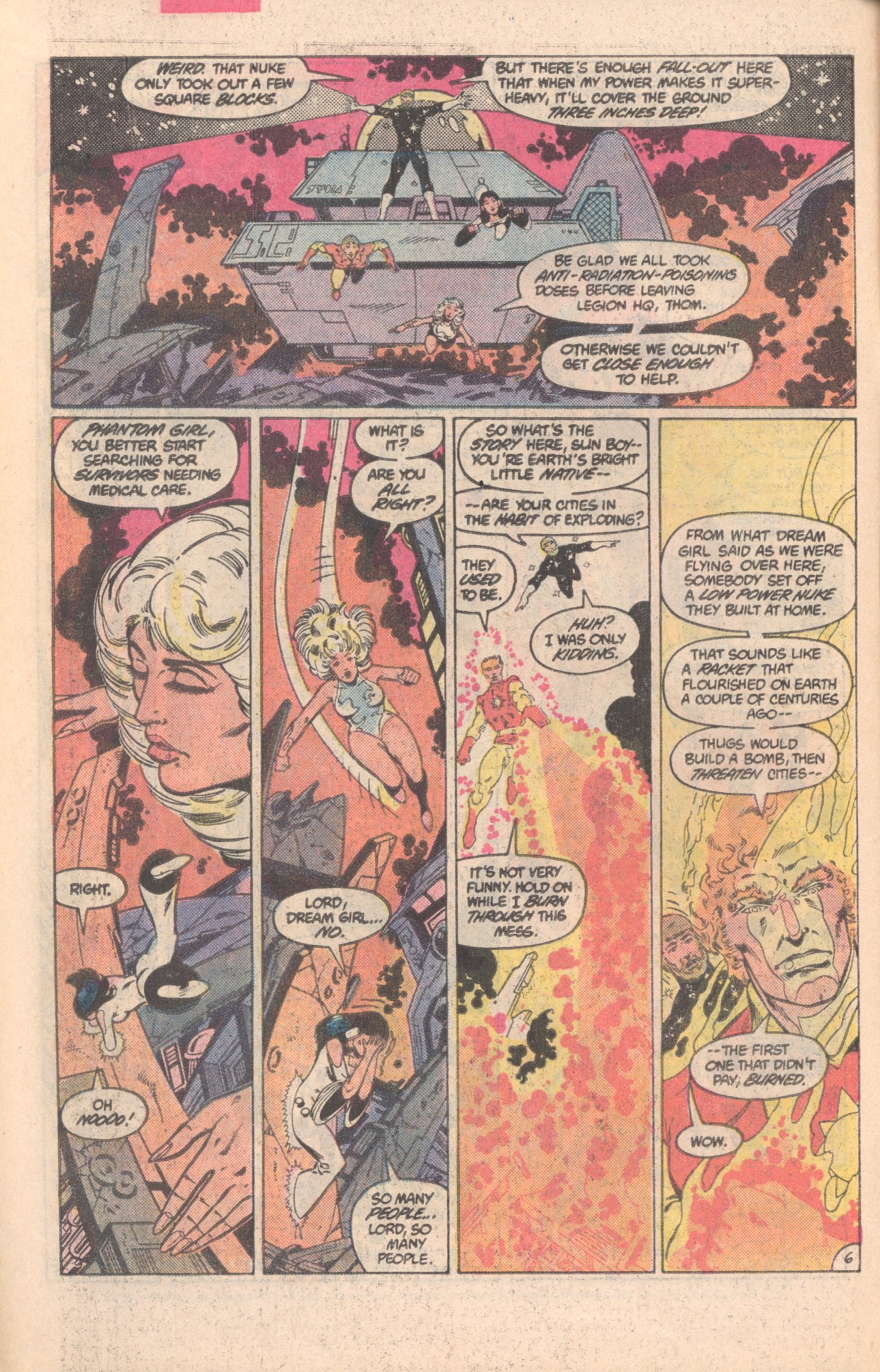 Legion of Super-Heroes (1980) 296 Page 6