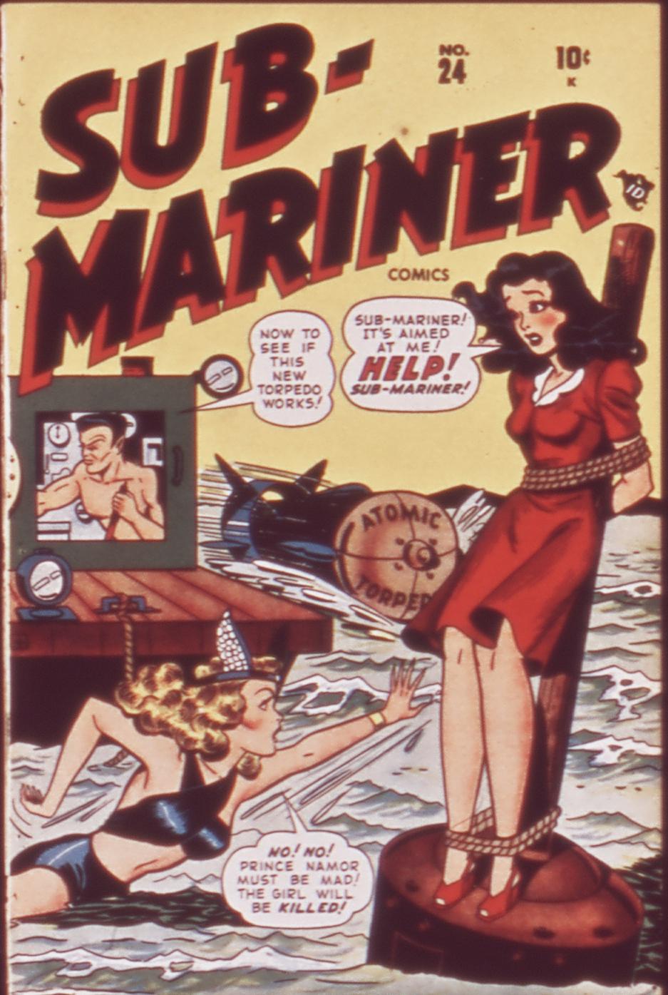 Sub-Mariner Comics 24 Page 1