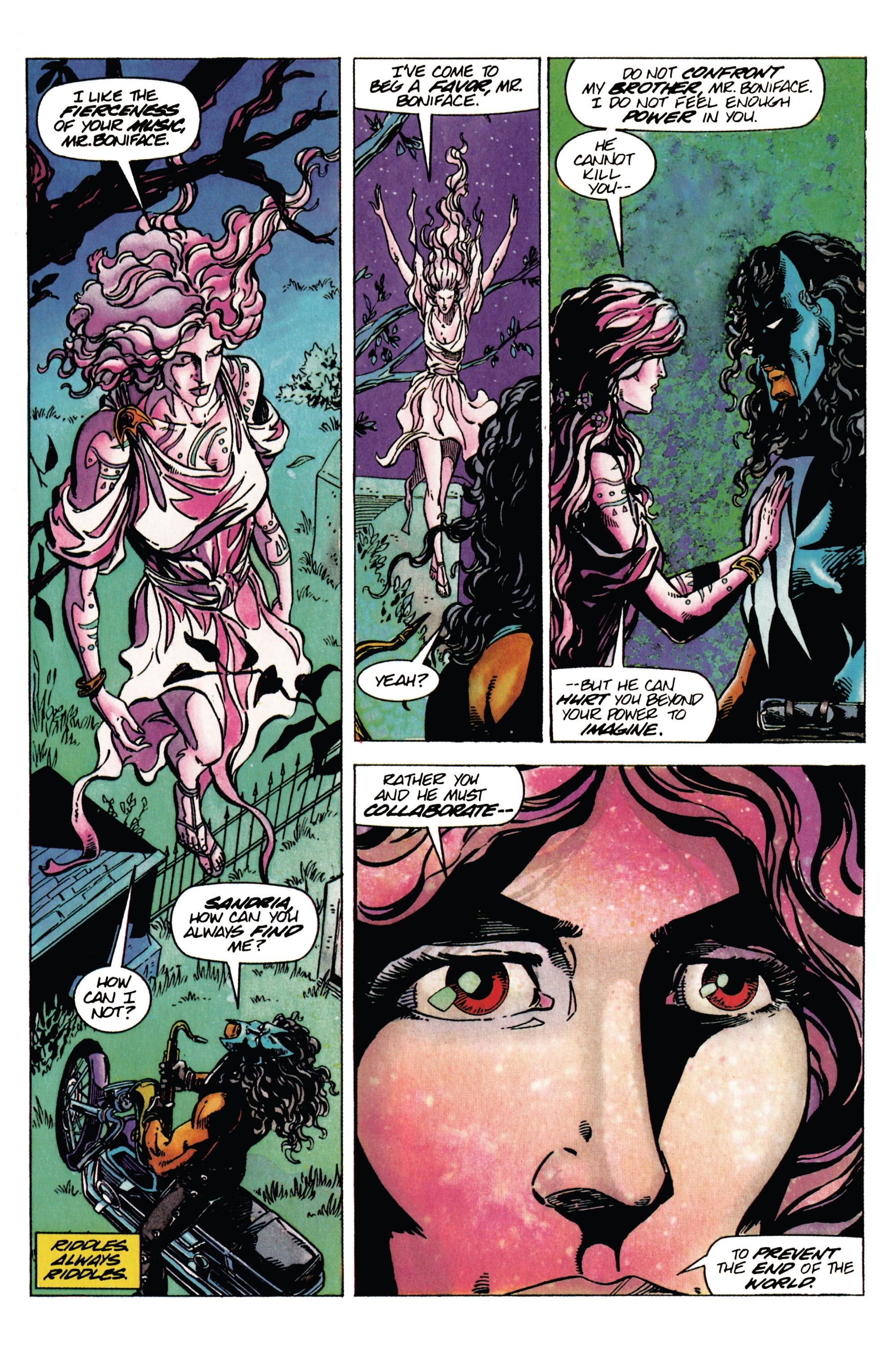 Read online Shadowman (1992) comic -  Issue #28 - 18