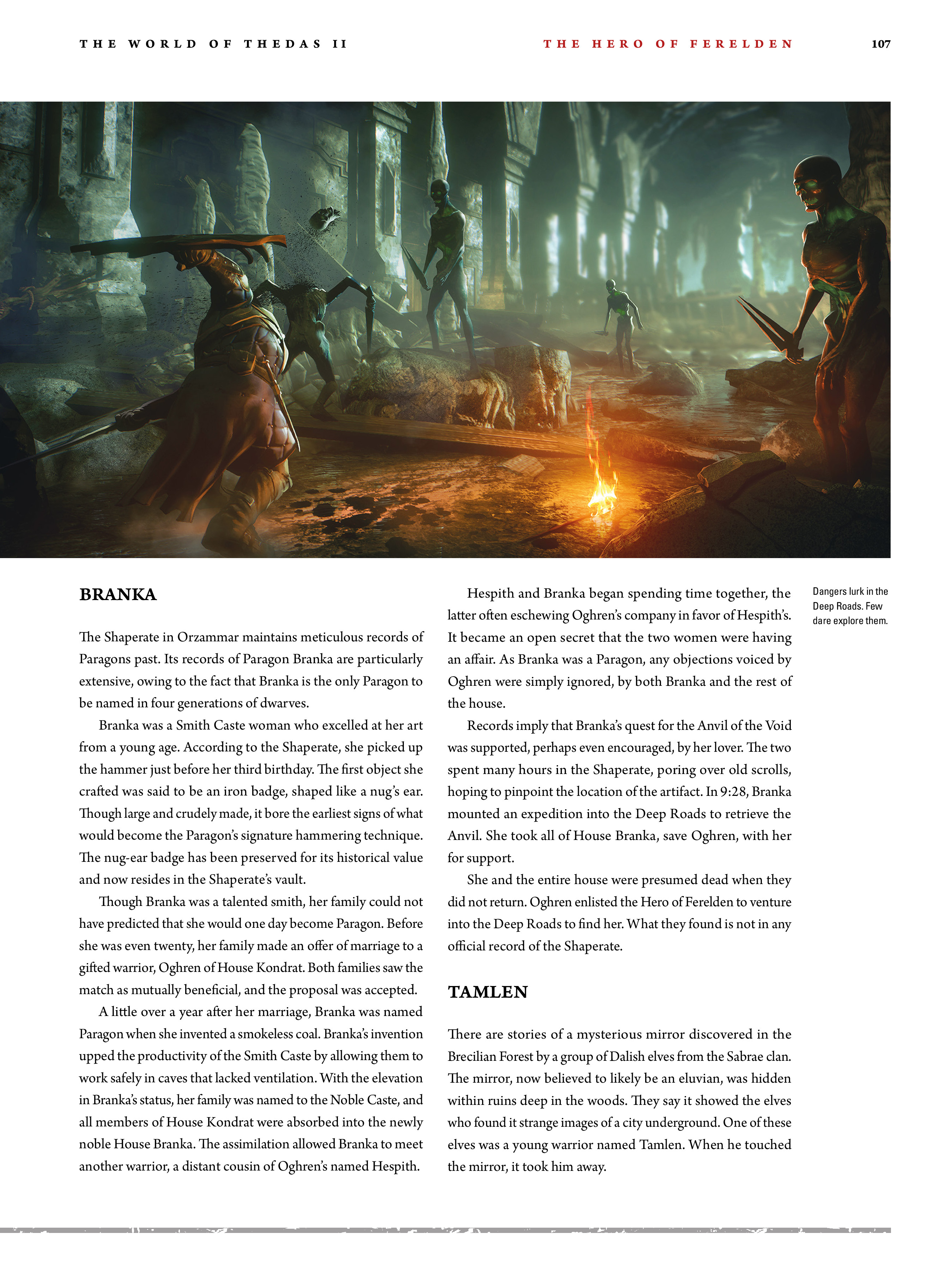 Read online Dragon Age: The World of Thedas comic -  Issue # TPB 2 - 103