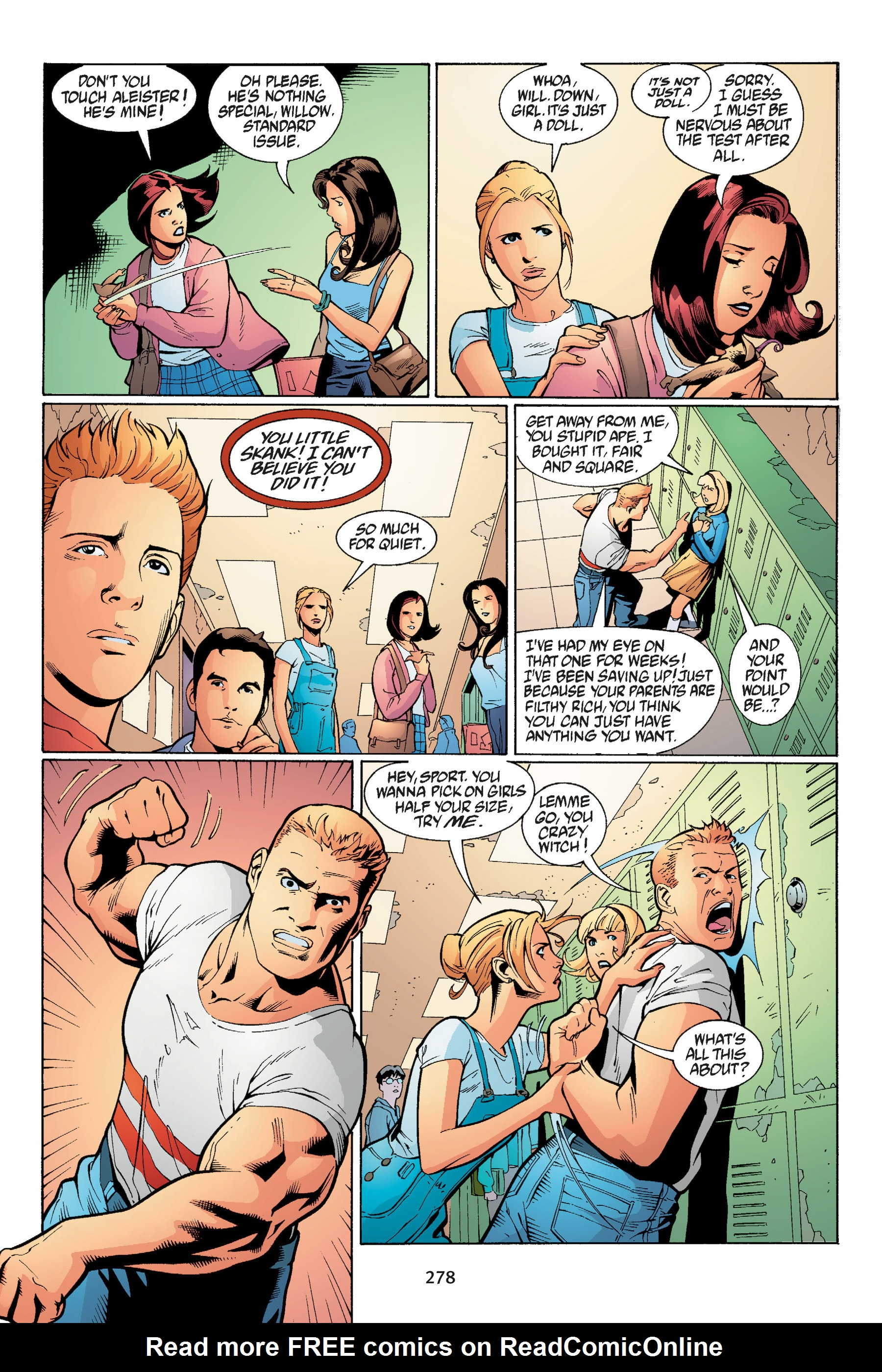 Read online Buffy the Vampire Slayer: Omnibus comic -  Issue # TPB 3 - 268