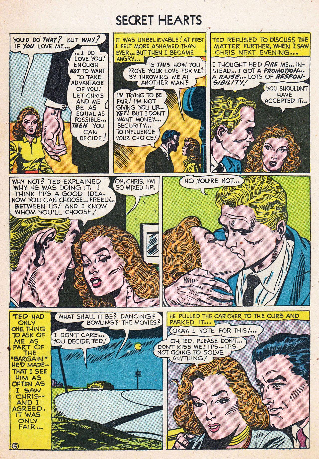 Read online Secret Hearts comic -  Issue #13 - 22