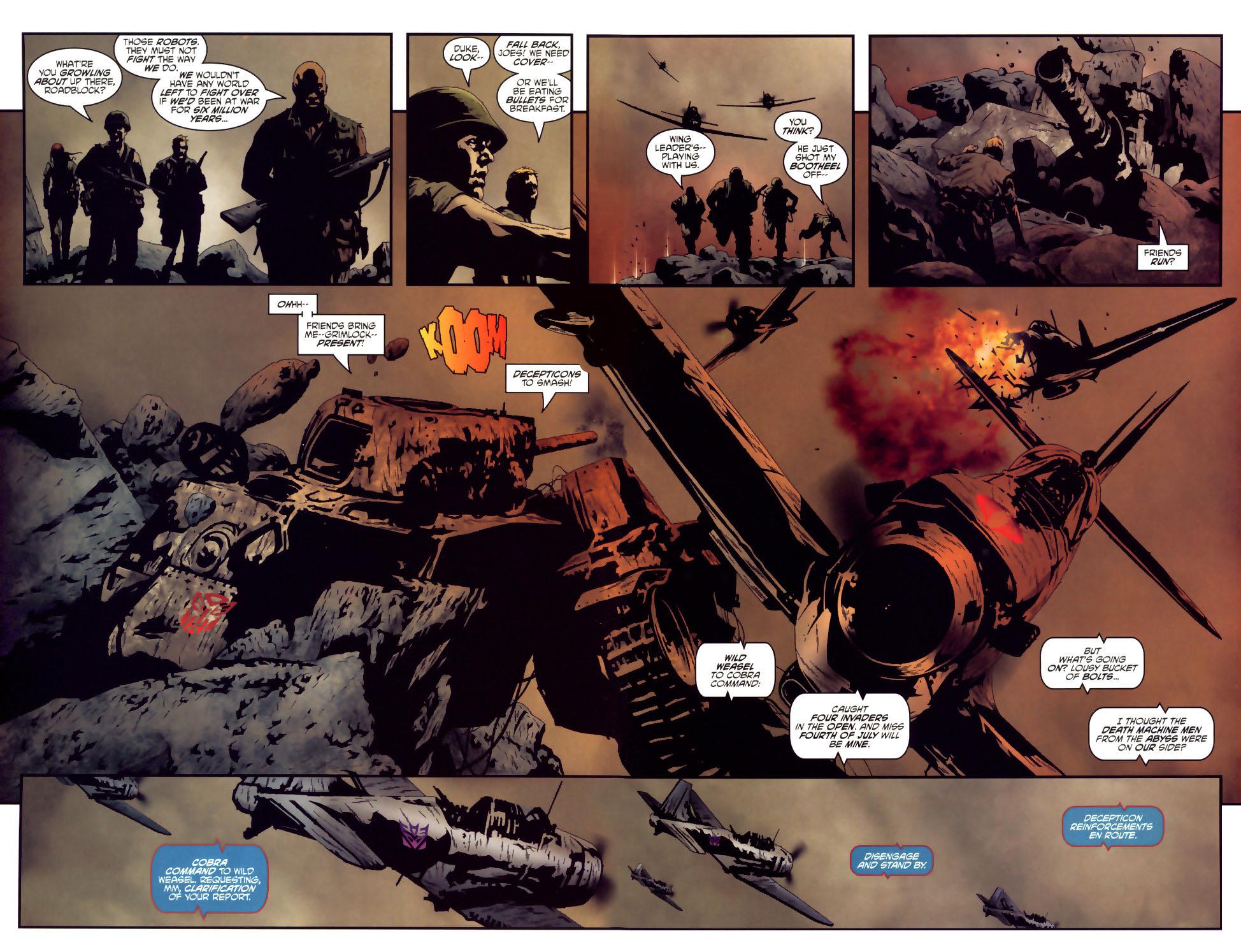 Read online Transformers/G.I. Joe comic -  Issue #2 - 19