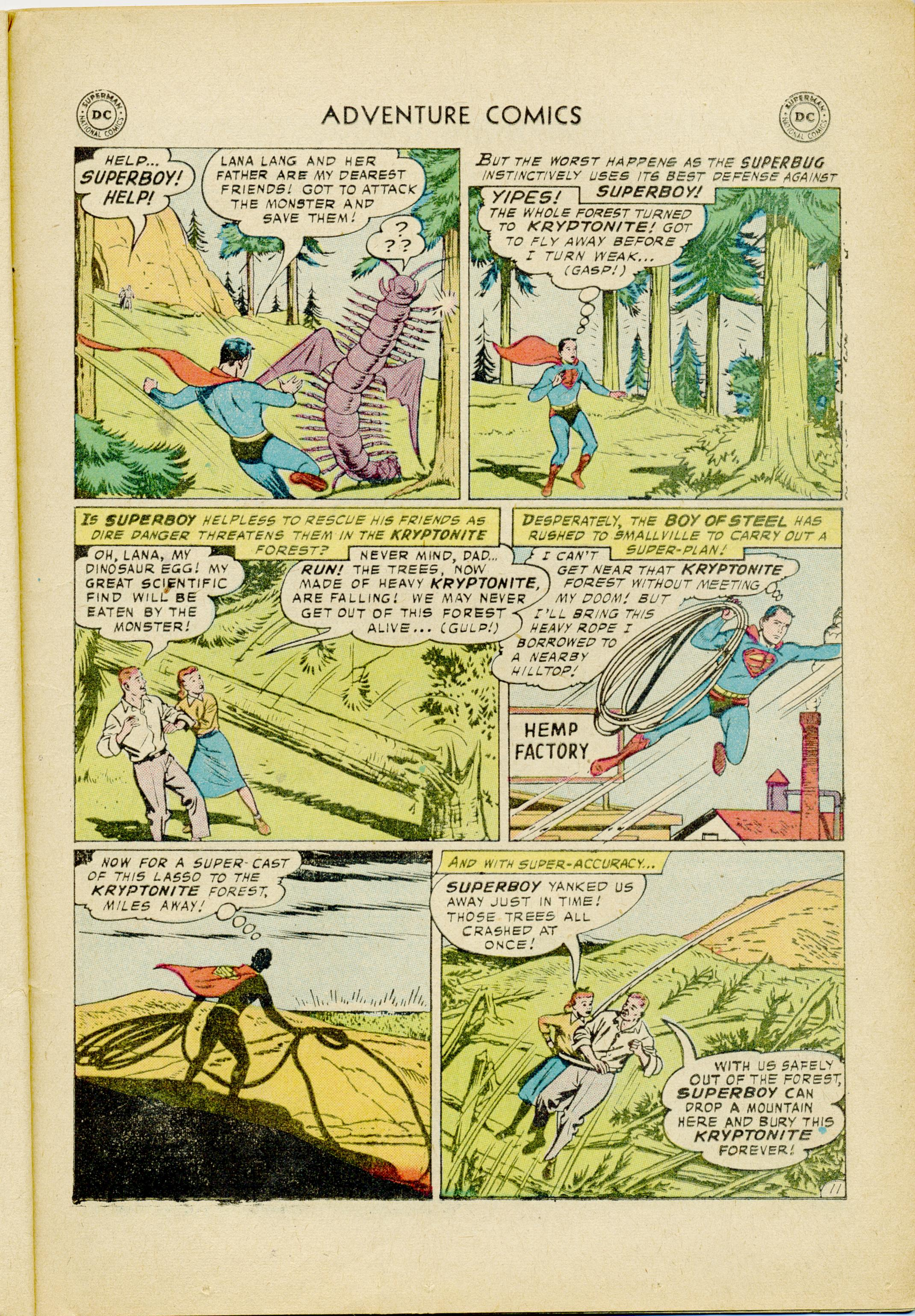 Read online Adventure Comics (1938) comic -  Issue #245 - 13