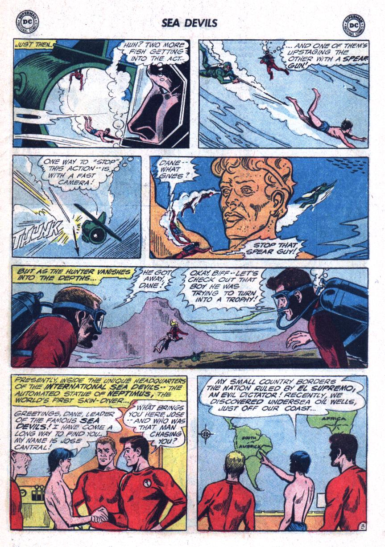 Read online Sea Devils comic -  Issue #25 - 6