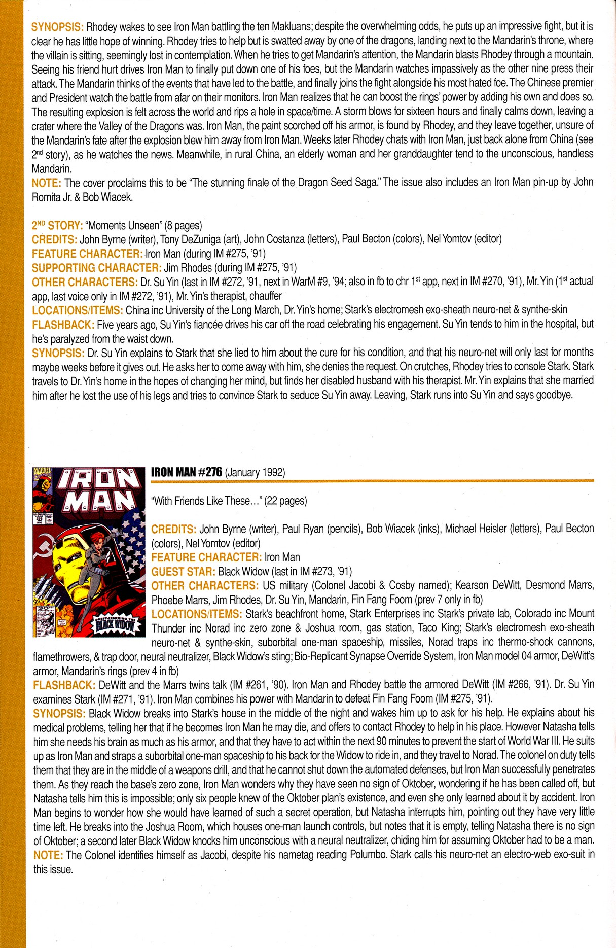 Read online Official Index to the Marvel Universe comic -  Issue #8 - 32