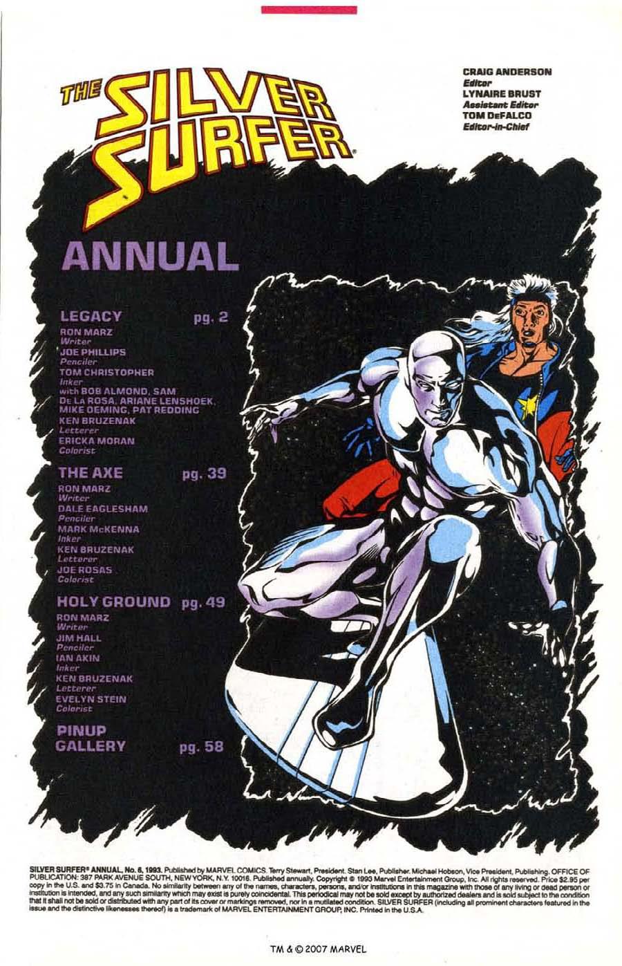 Silver Surfer (1987) _Annual 6 #6 - English 3