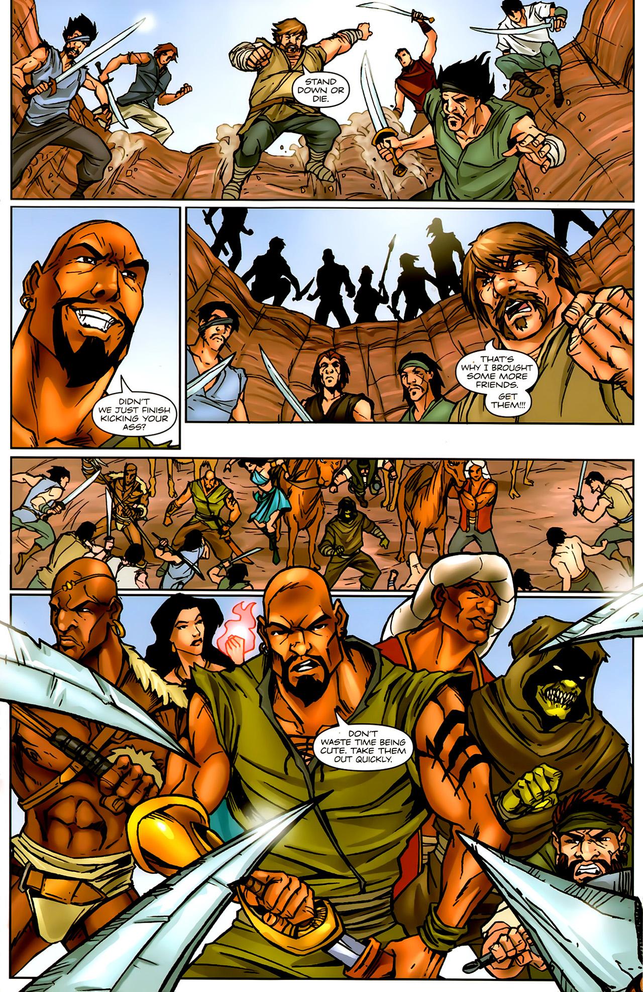 Read online 1001 Arabian Nights: The Adventures of Sinbad comic -  Issue #9 - 15