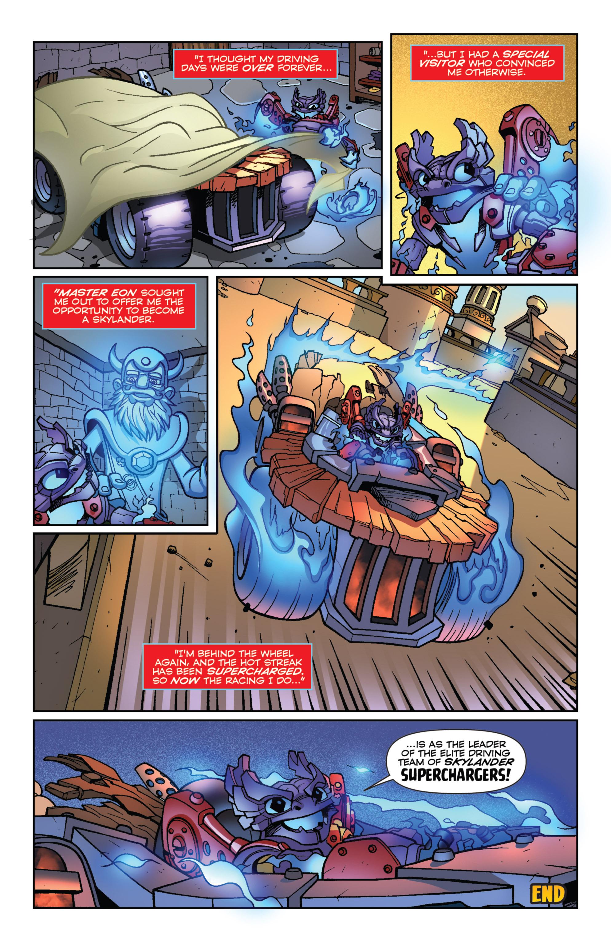 Read online Skylanders Superchargers comic -  Issue #1 - 23