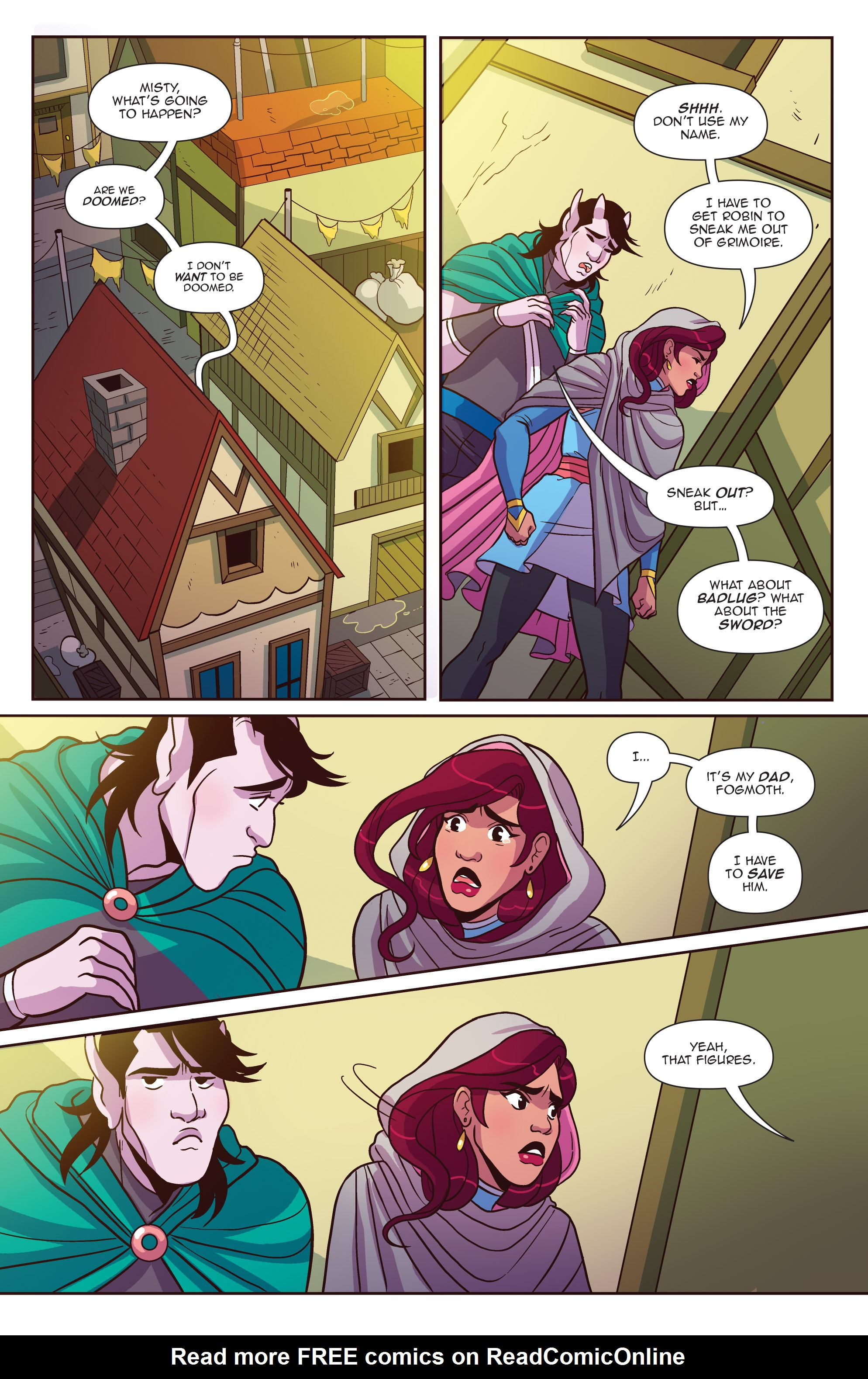Read online Another Castle comic -  Issue #4 - 18