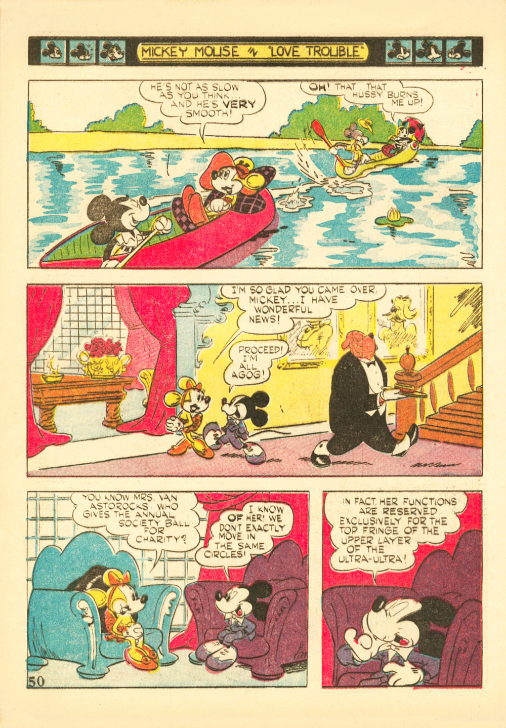 Walt Disney's Comics and Stories issue 38 - Page 52