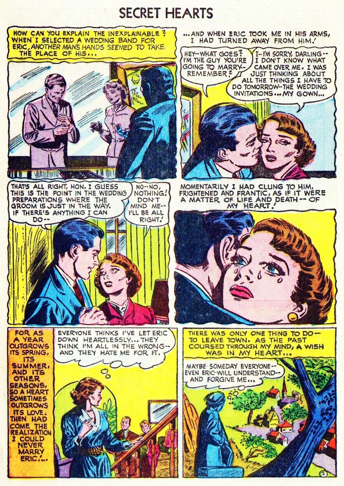 Read online Secret Hearts comic -  Issue #15 - 4