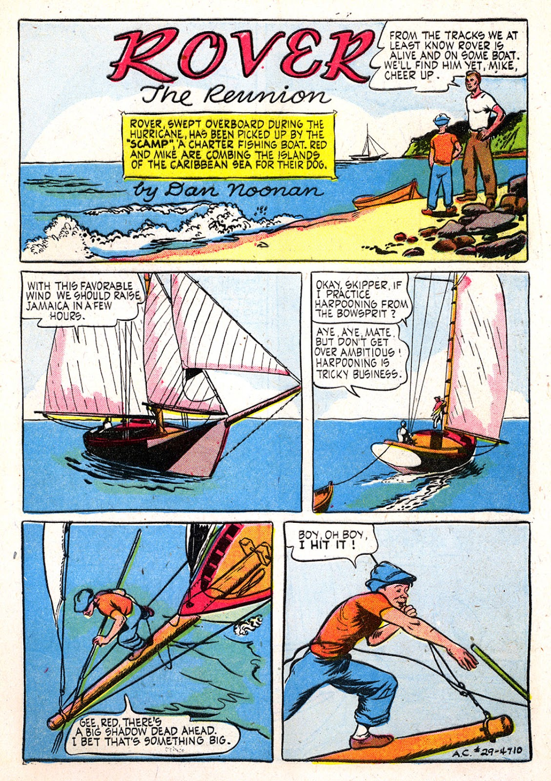 Read online Animal Comics comic -  Issue #29 - 3