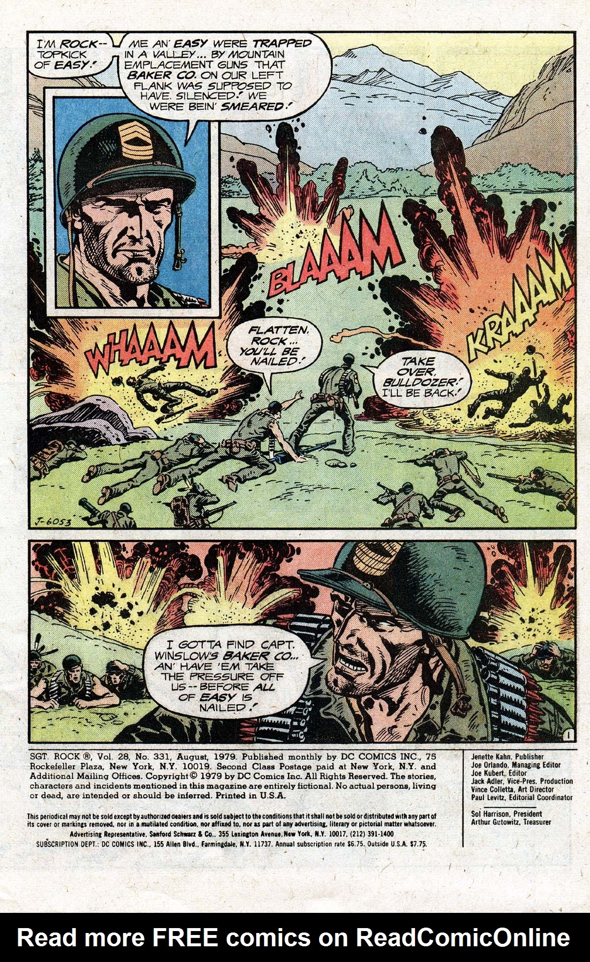 Read online Sgt. Rock comic -  Issue #331 - 3