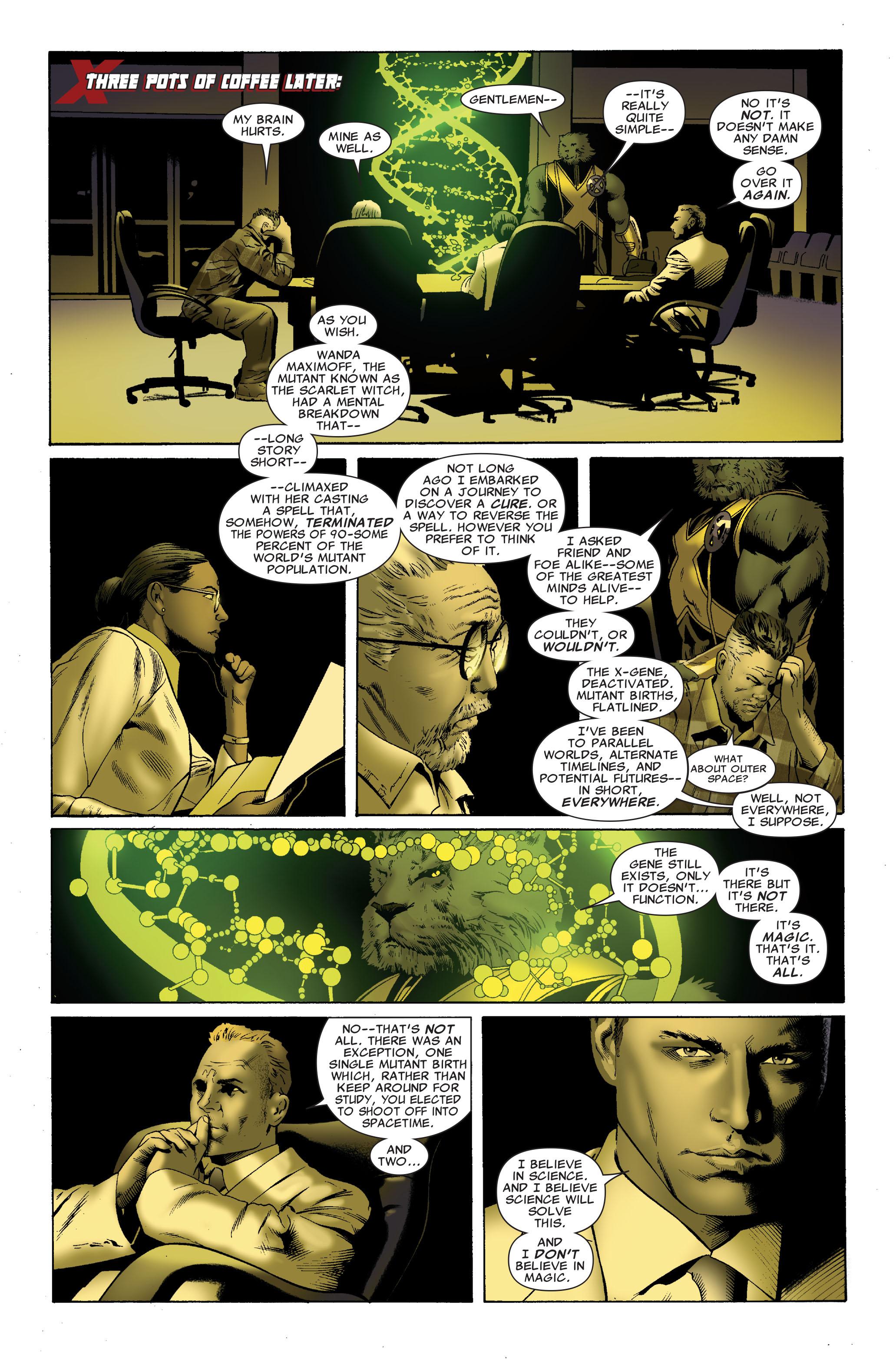 Read online Uncanny X-Men (1963) comic -  Issue #508 - 12