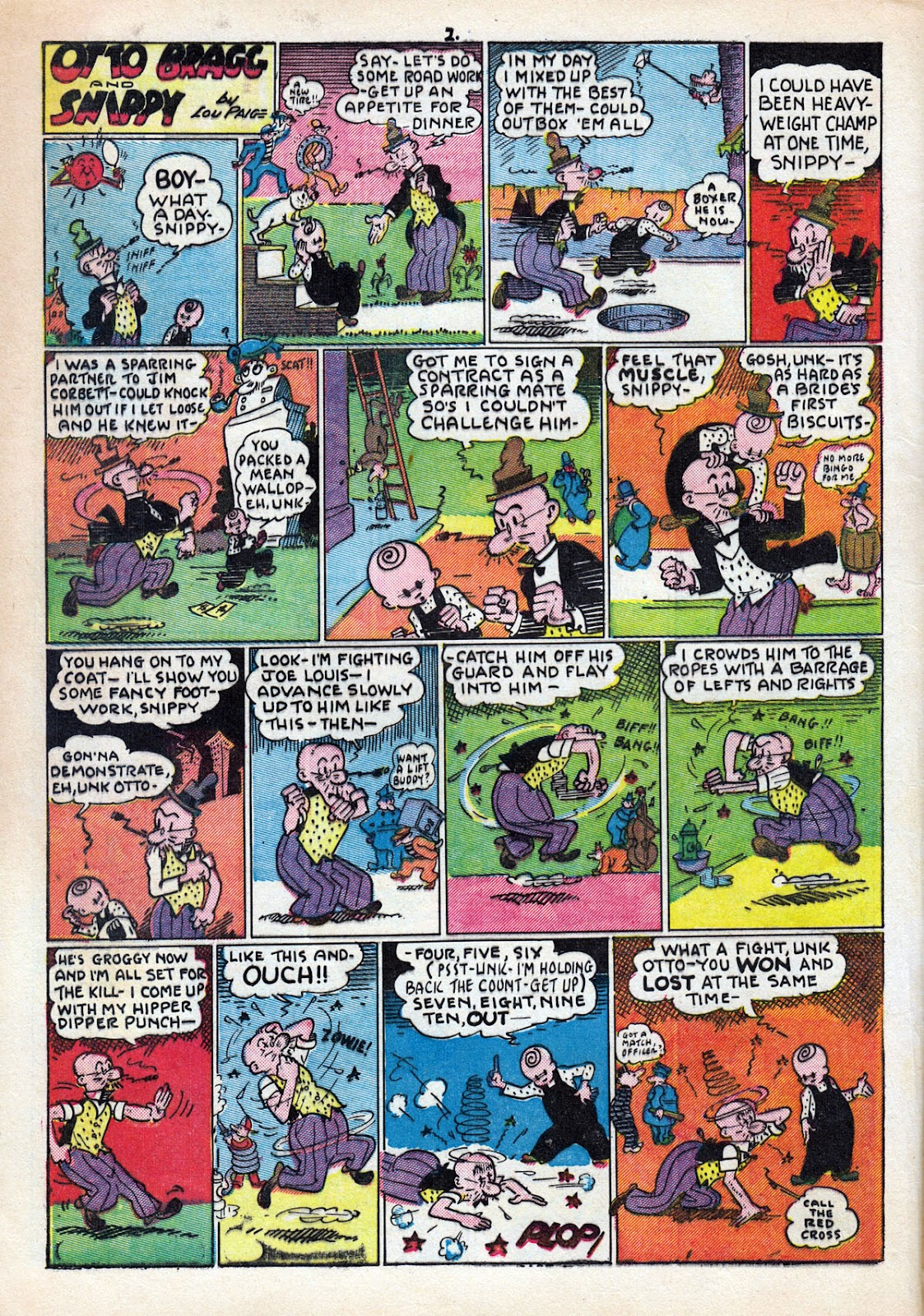 Read online Comedy Comics (1942) comic -  Issue #11 - 4