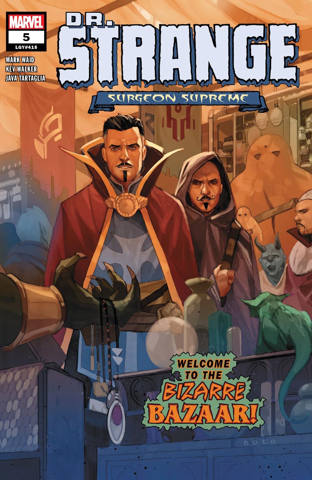 Read online Dr. Strange comic -  Issue #5 - 1