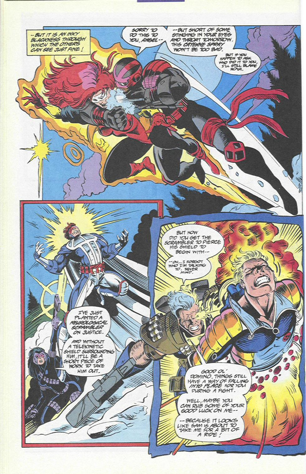 The New Warriors Issue #46 #50 - English 16