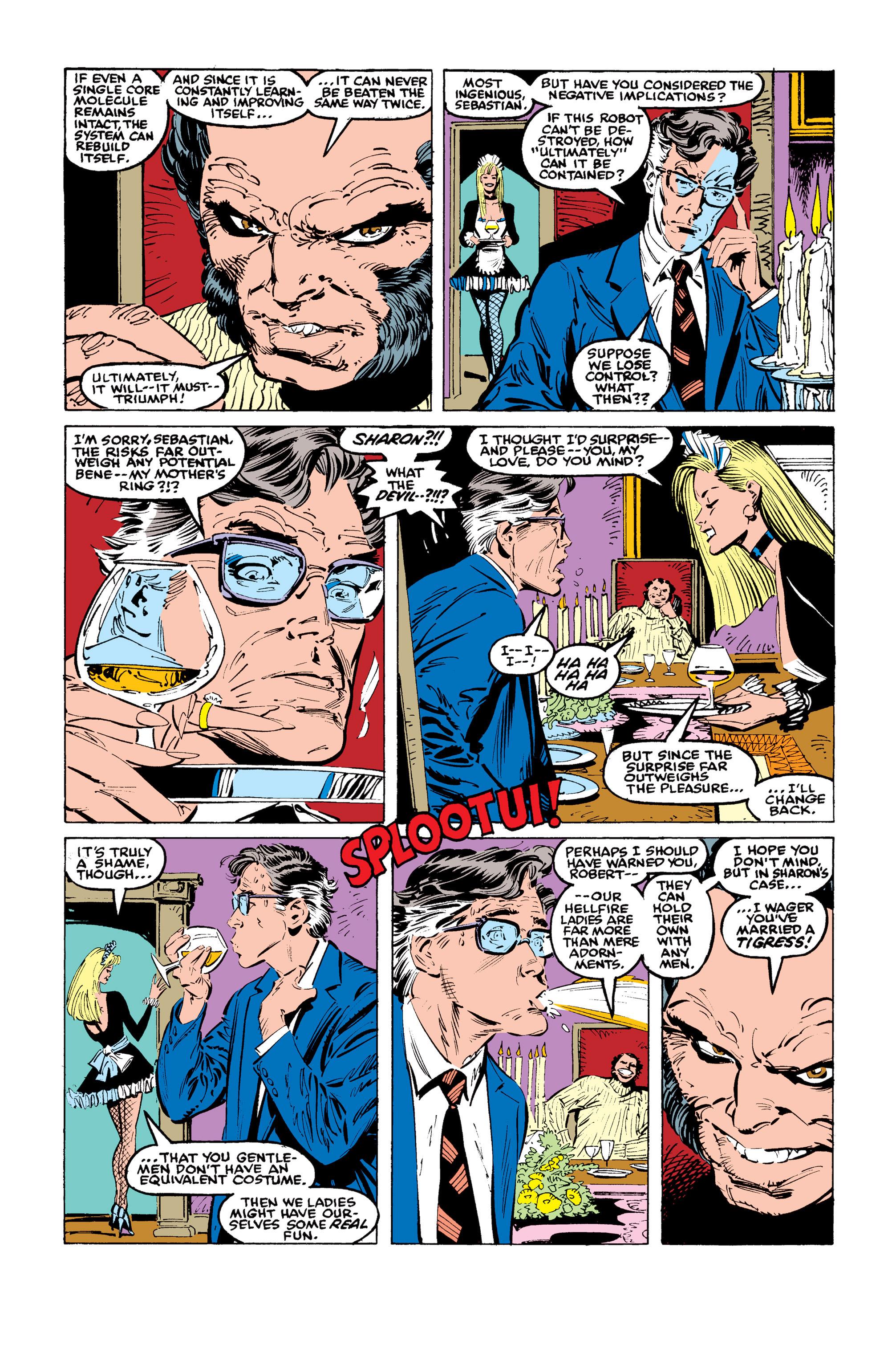 Read online Uncanny X-Men (1963) comic -  Issue #246 - 15
