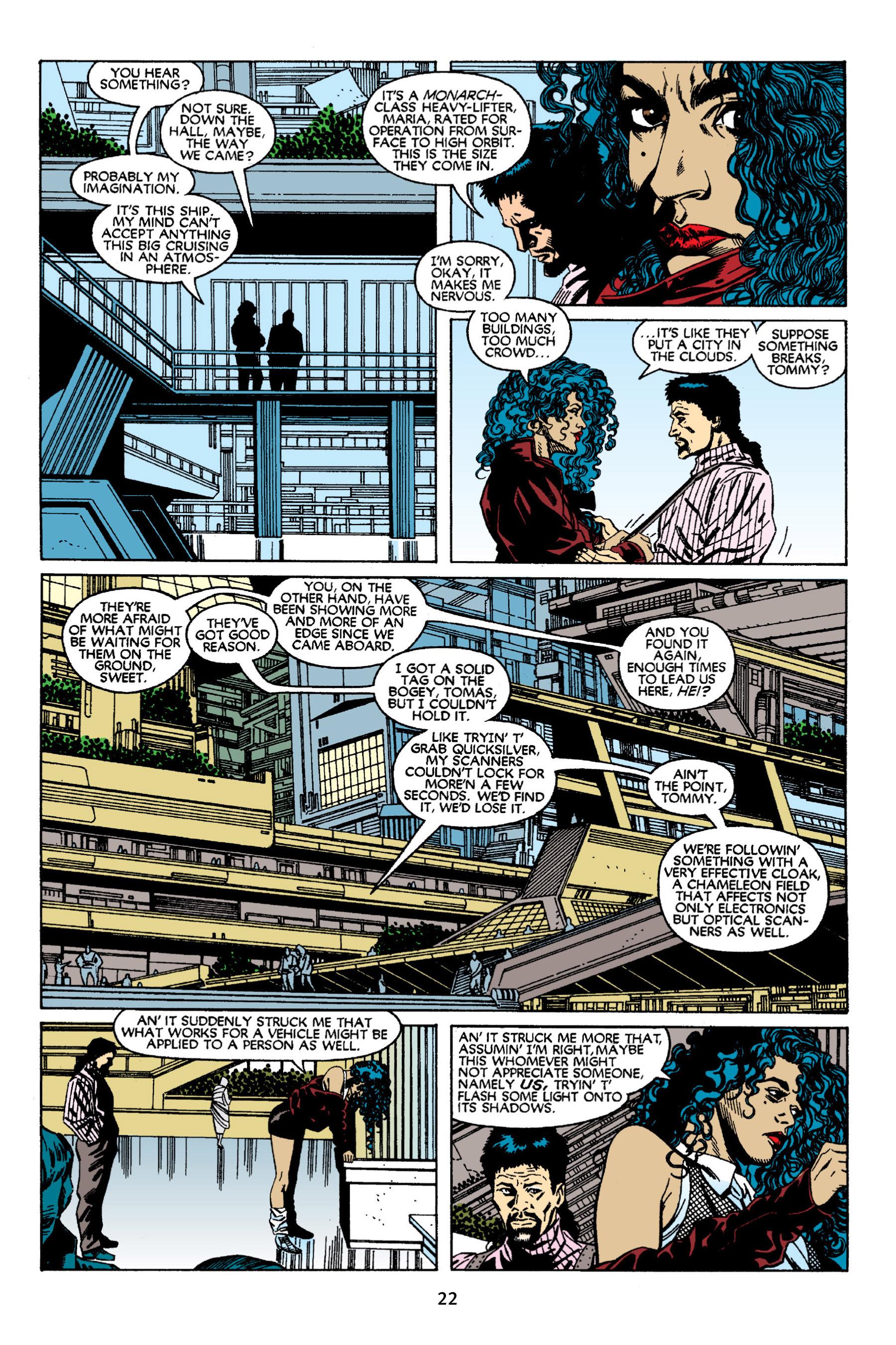 Read online Aliens vs. Predator Omnibus comic -  Issue # _TPB 2 Part 1 - 22